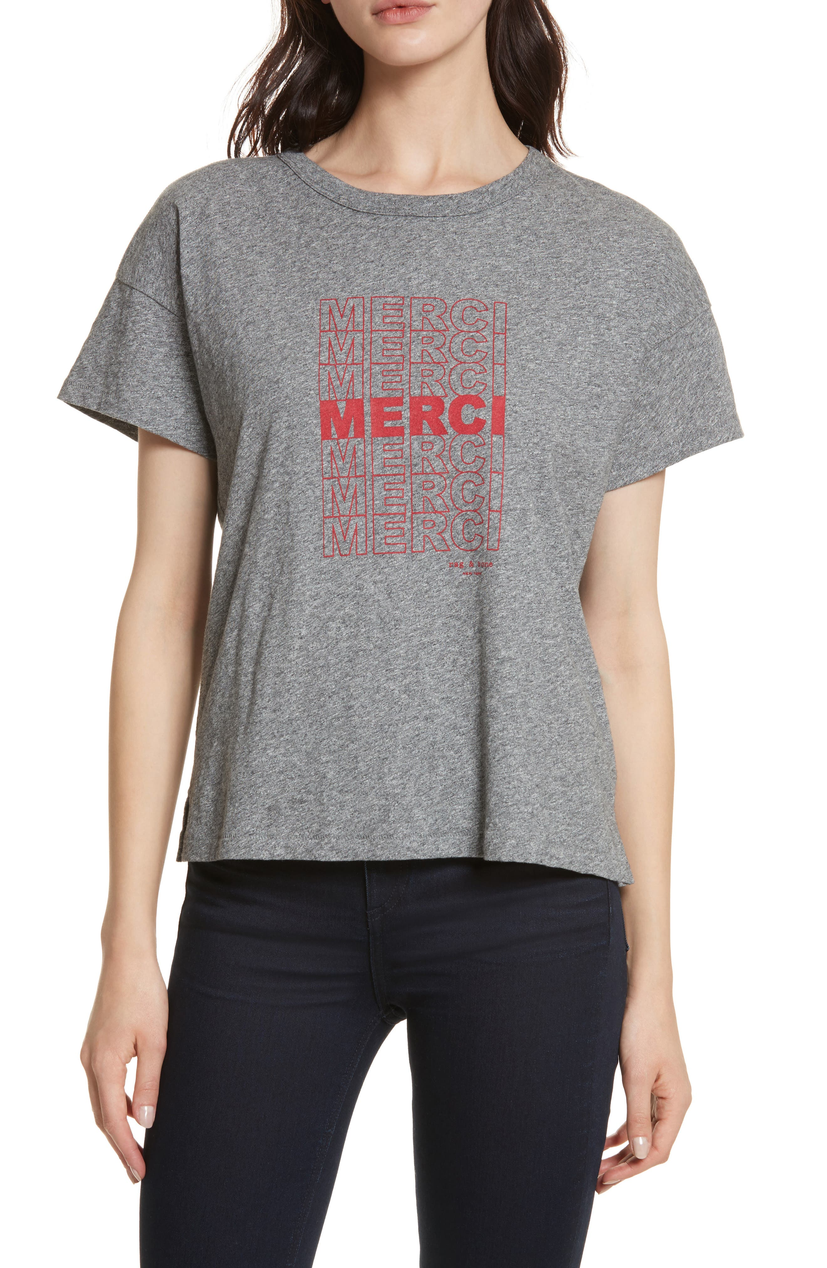 Merci Graphic Tee,                         Main,                         color,
