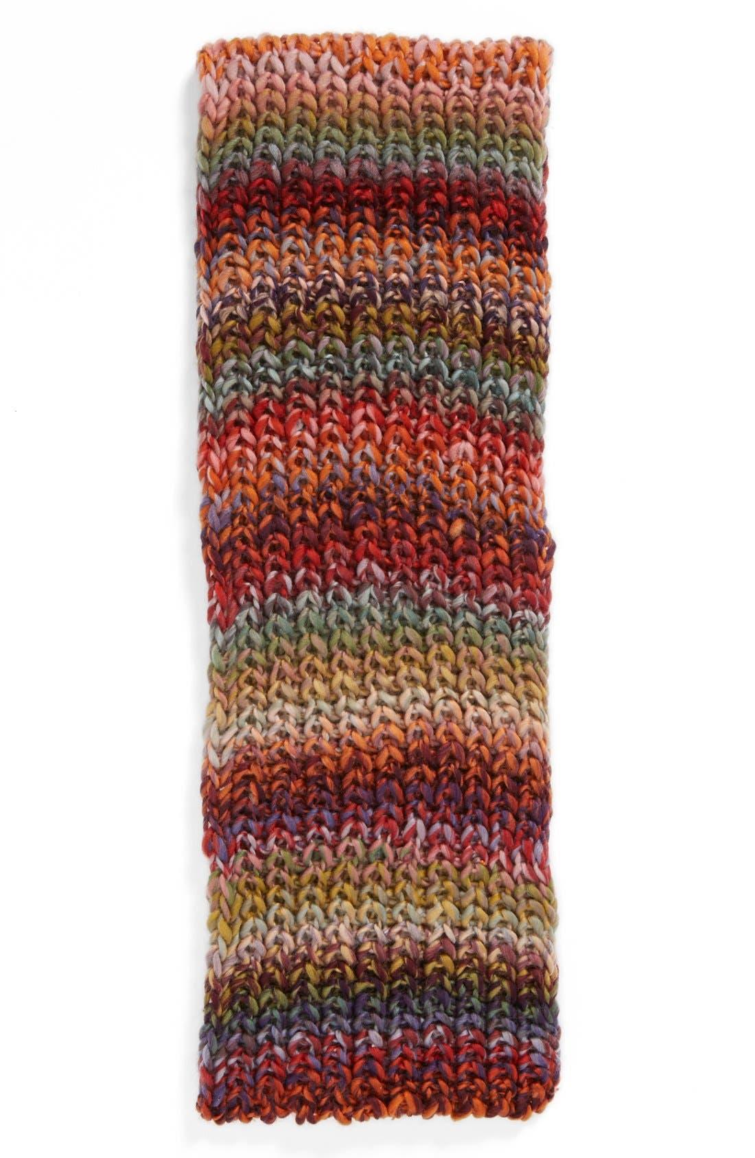 Chunky Rainbow Infinity Scarf,                             Alternate thumbnail 2, color,                             600
