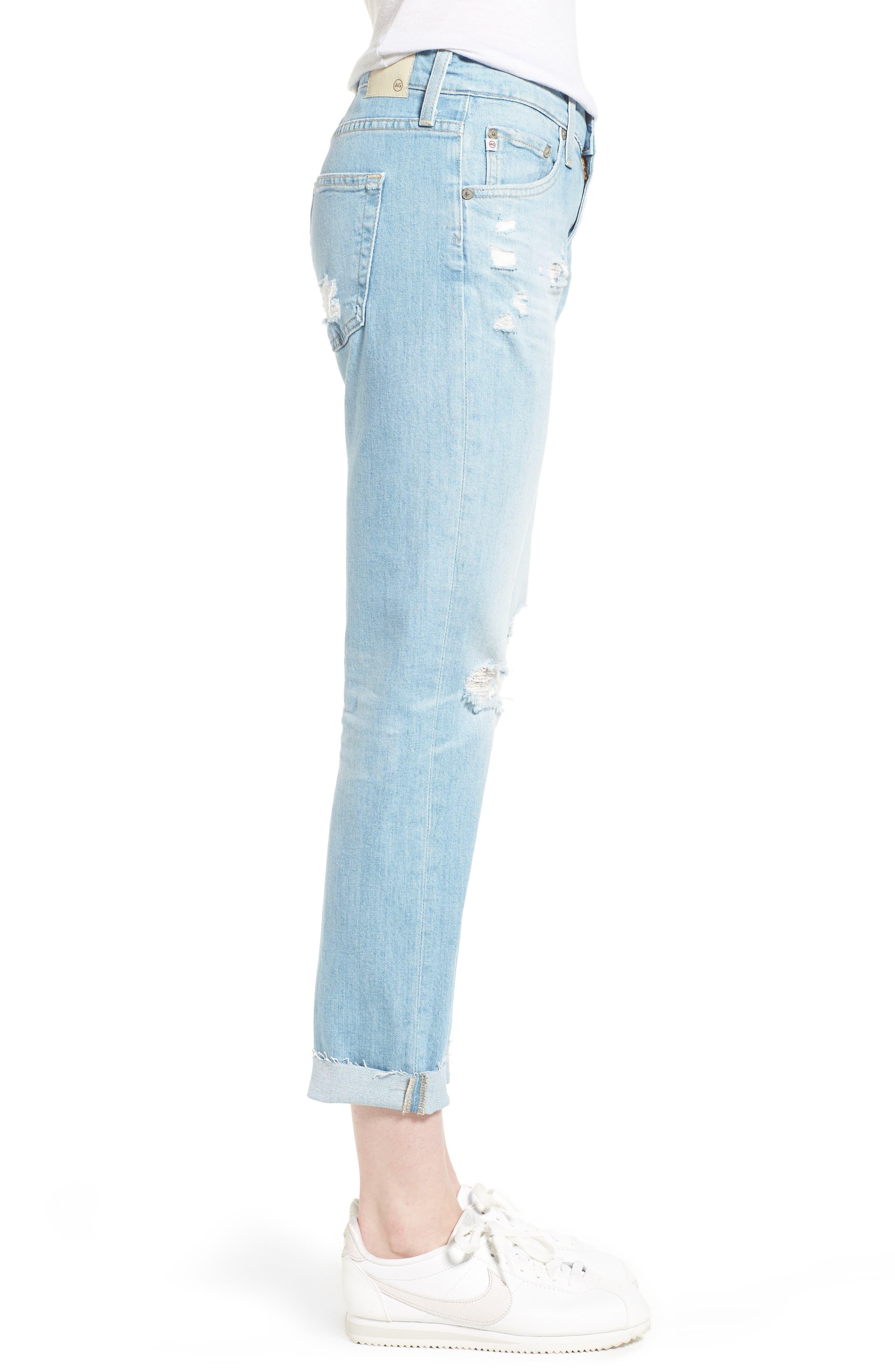 The Ex-Boyfriend Crop Slim Jeans,                             Alternate thumbnail 3, color,                             426