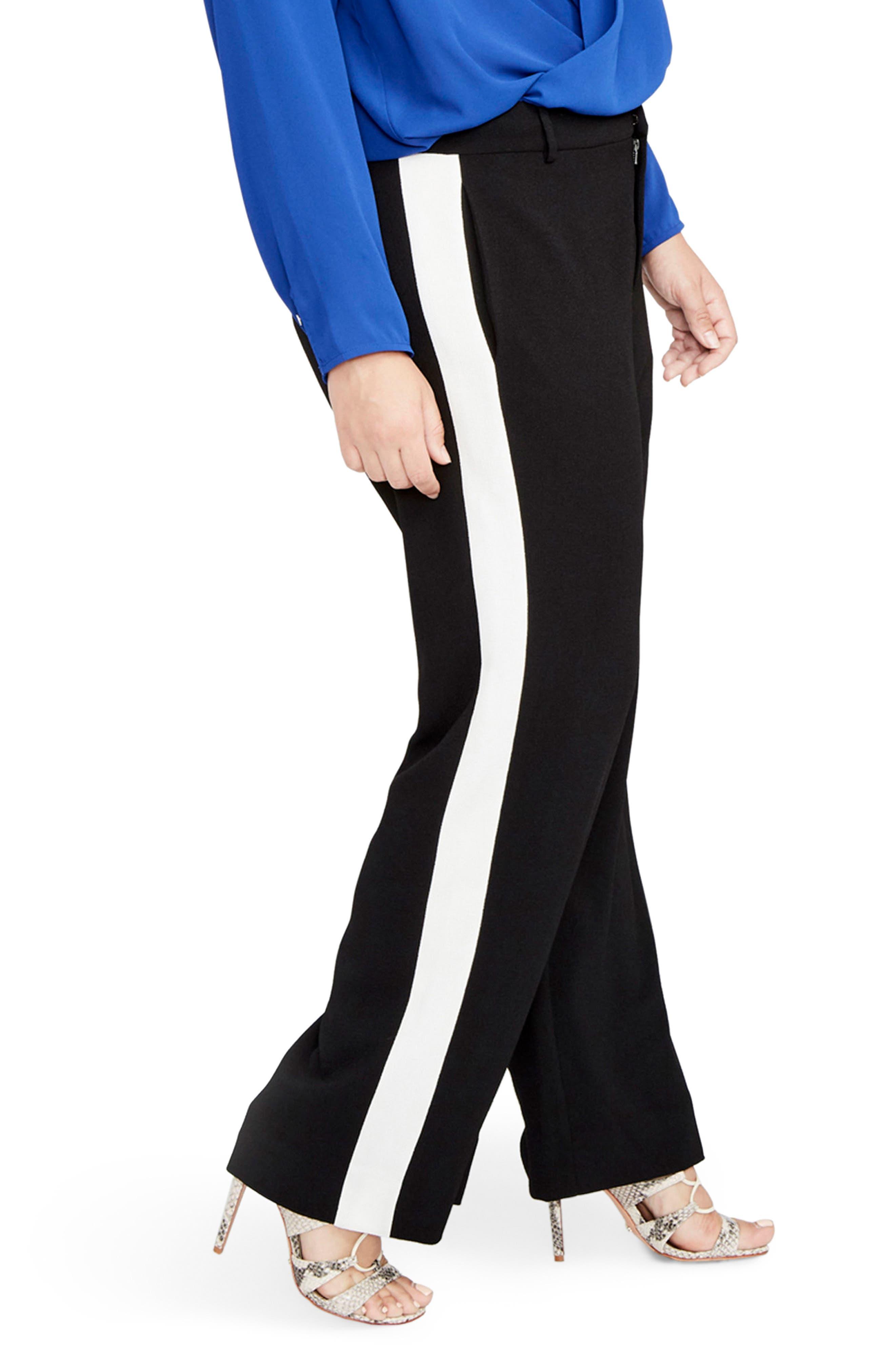 Side Stripe Pants,                             Alternate thumbnail 3, color,                             001
