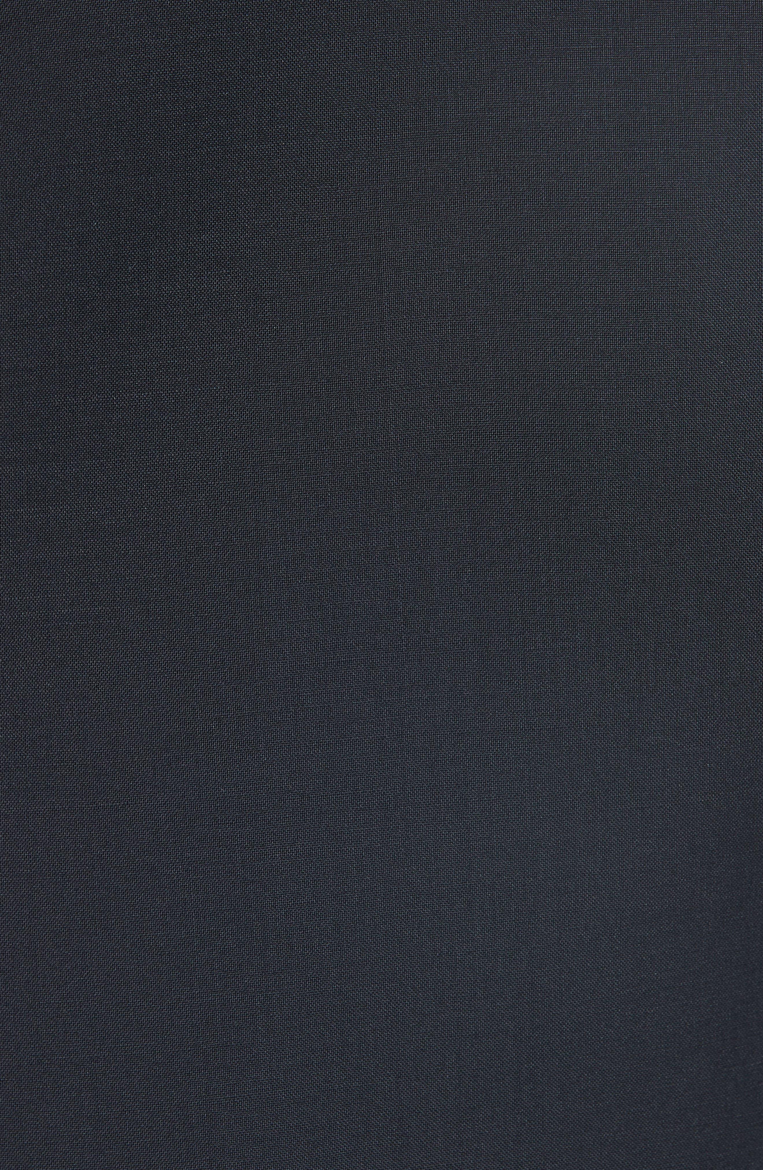 13000 Classic Fit Wool & Mohair Tuxedo,                             Alternate thumbnail 9, color,                             BLACK