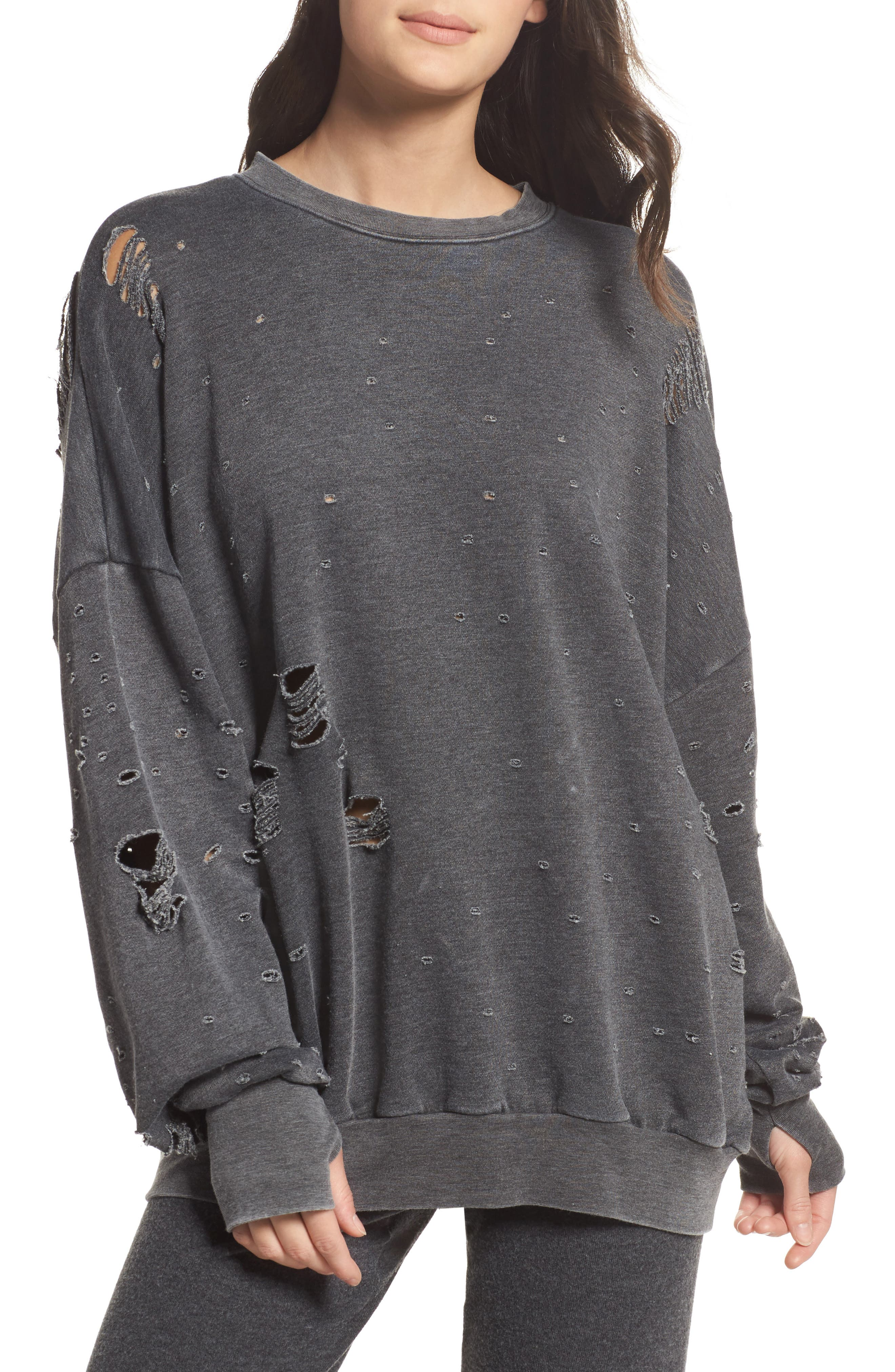 Thrasher Sweatshirt,                             Main thumbnail 1, color,                             020