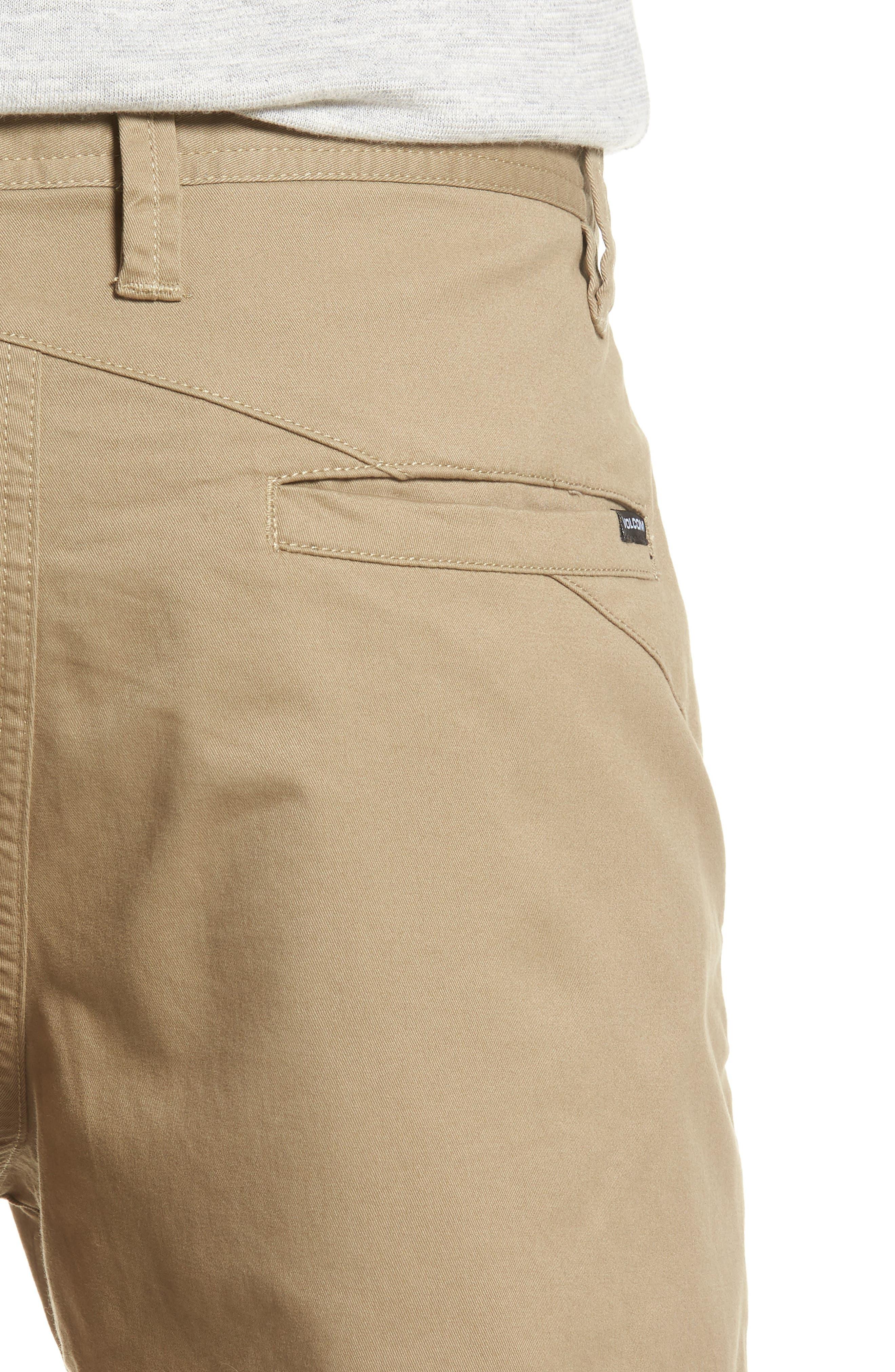 Lightweight Shorts,                             Alternate thumbnail 4, color,                             KHAKI