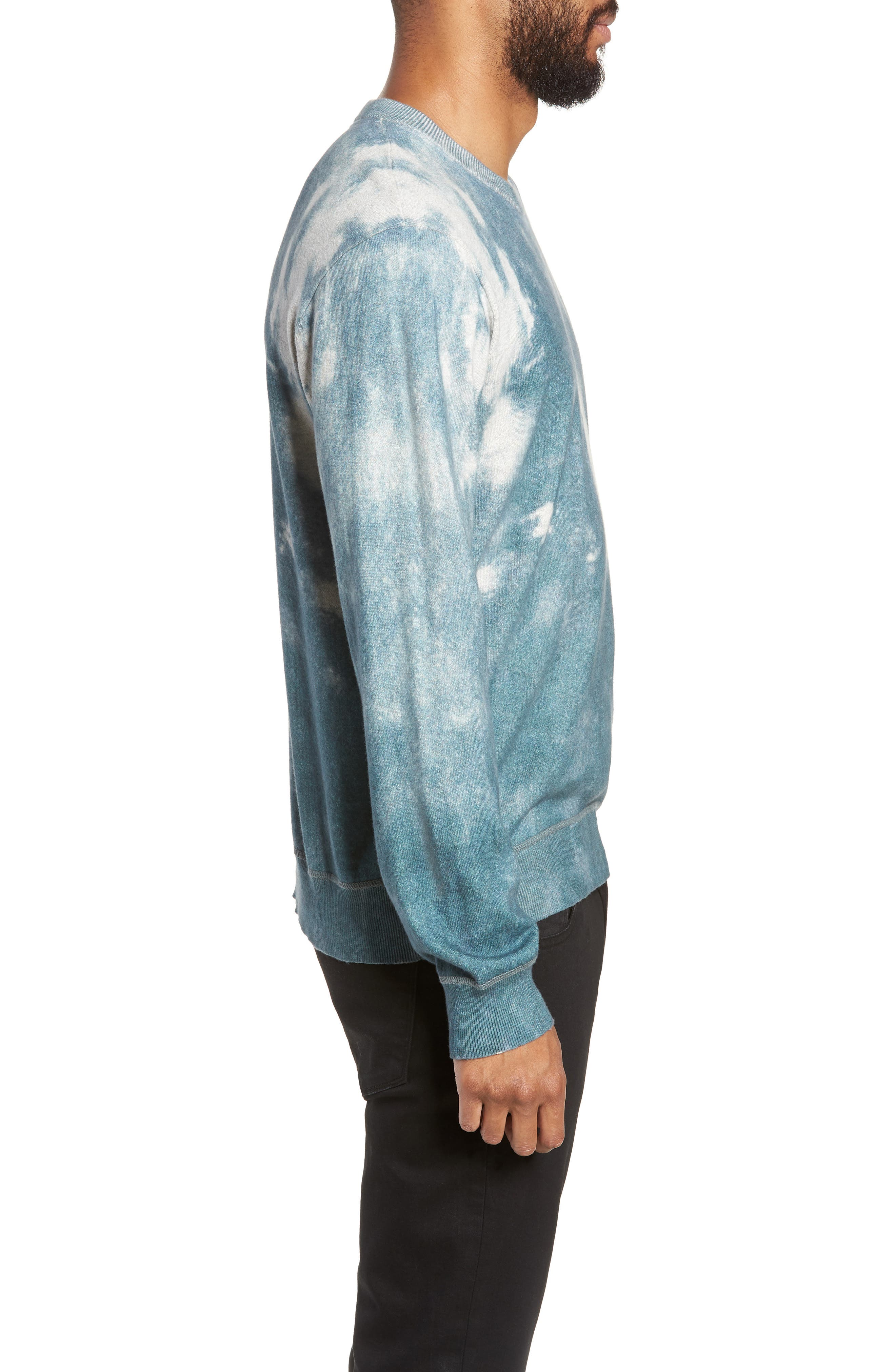 ATM ANTHONY THOMAS MELILLO,                             Abstract Print Sweater,                             Alternate thumbnail 3, color,                             450