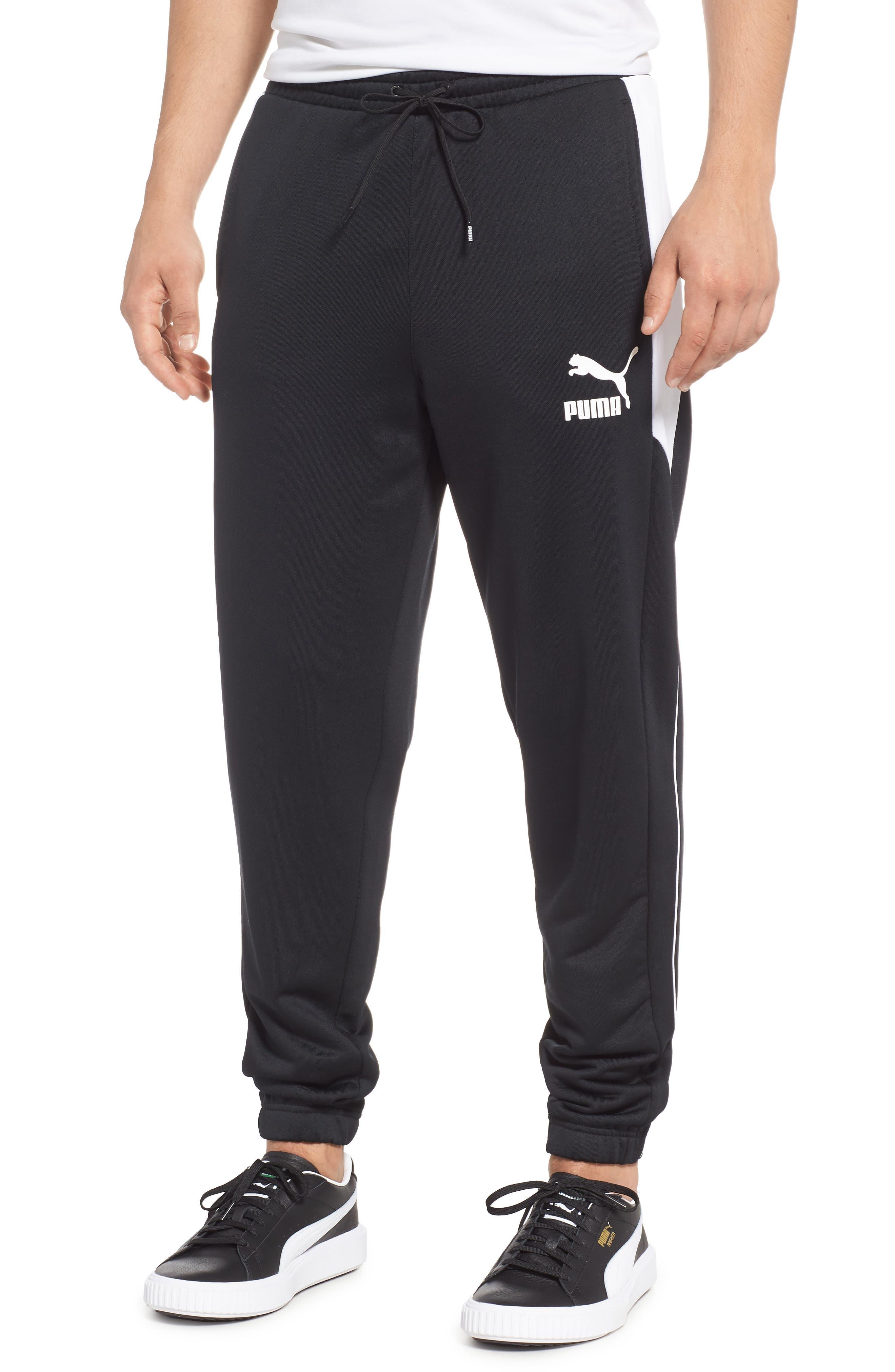 Retro Sweatpants,                             Main thumbnail 1, color,                             PUMA BLACK