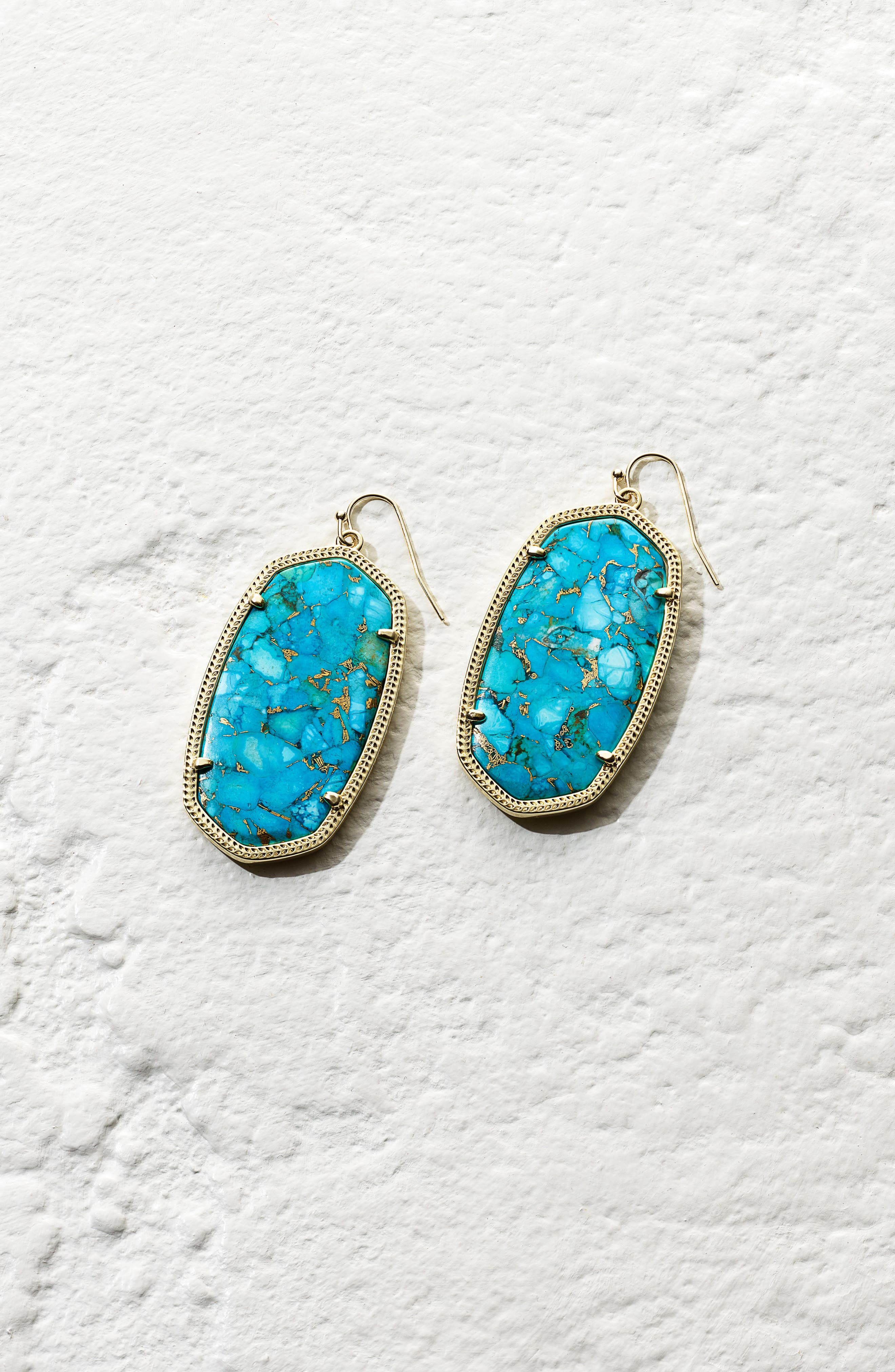 Danielle - Large Oval Statement Earrings,                             Alternate thumbnail 387, color,