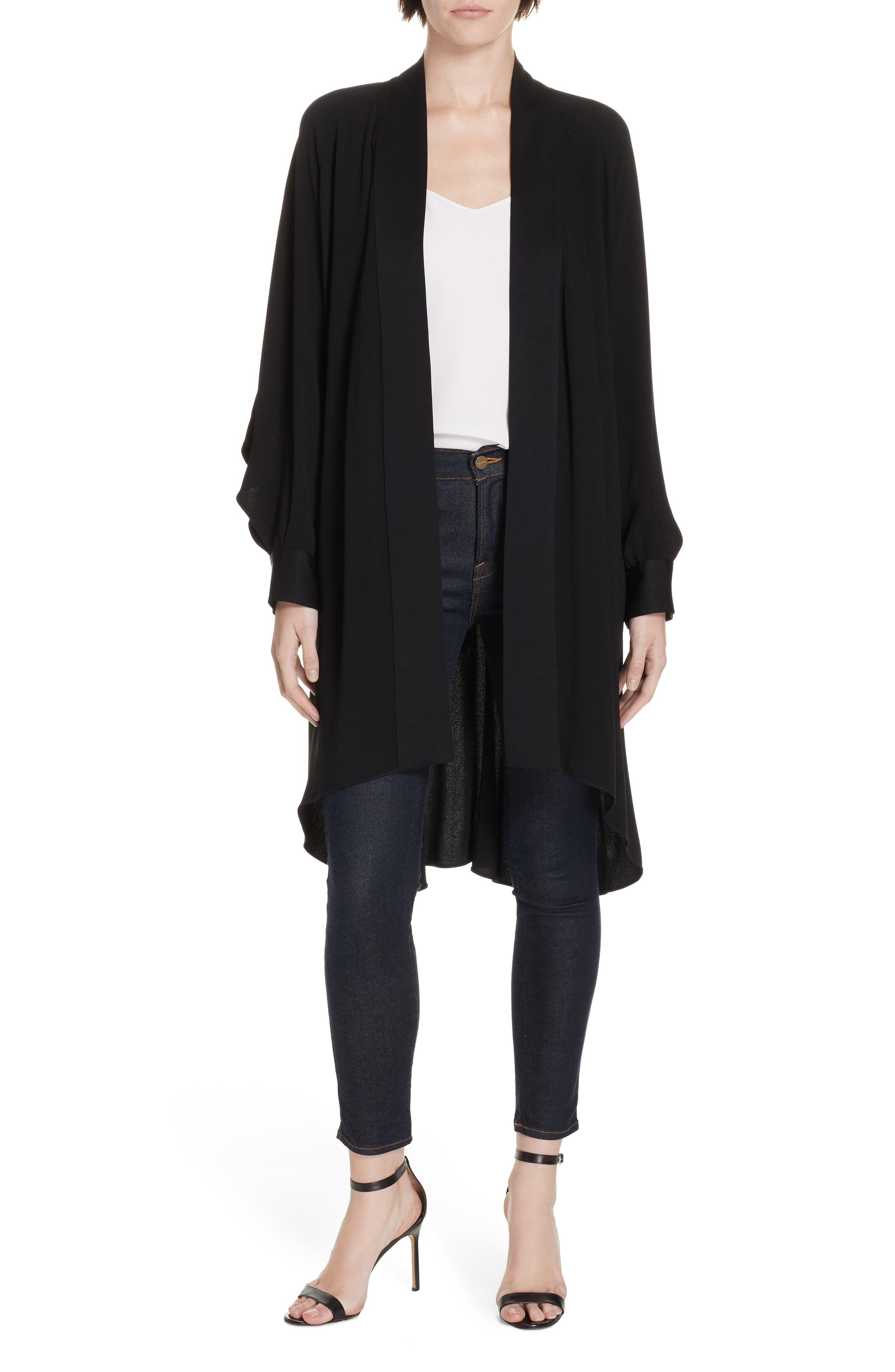 Deon Kimono Wrap, Main, color, BLACK