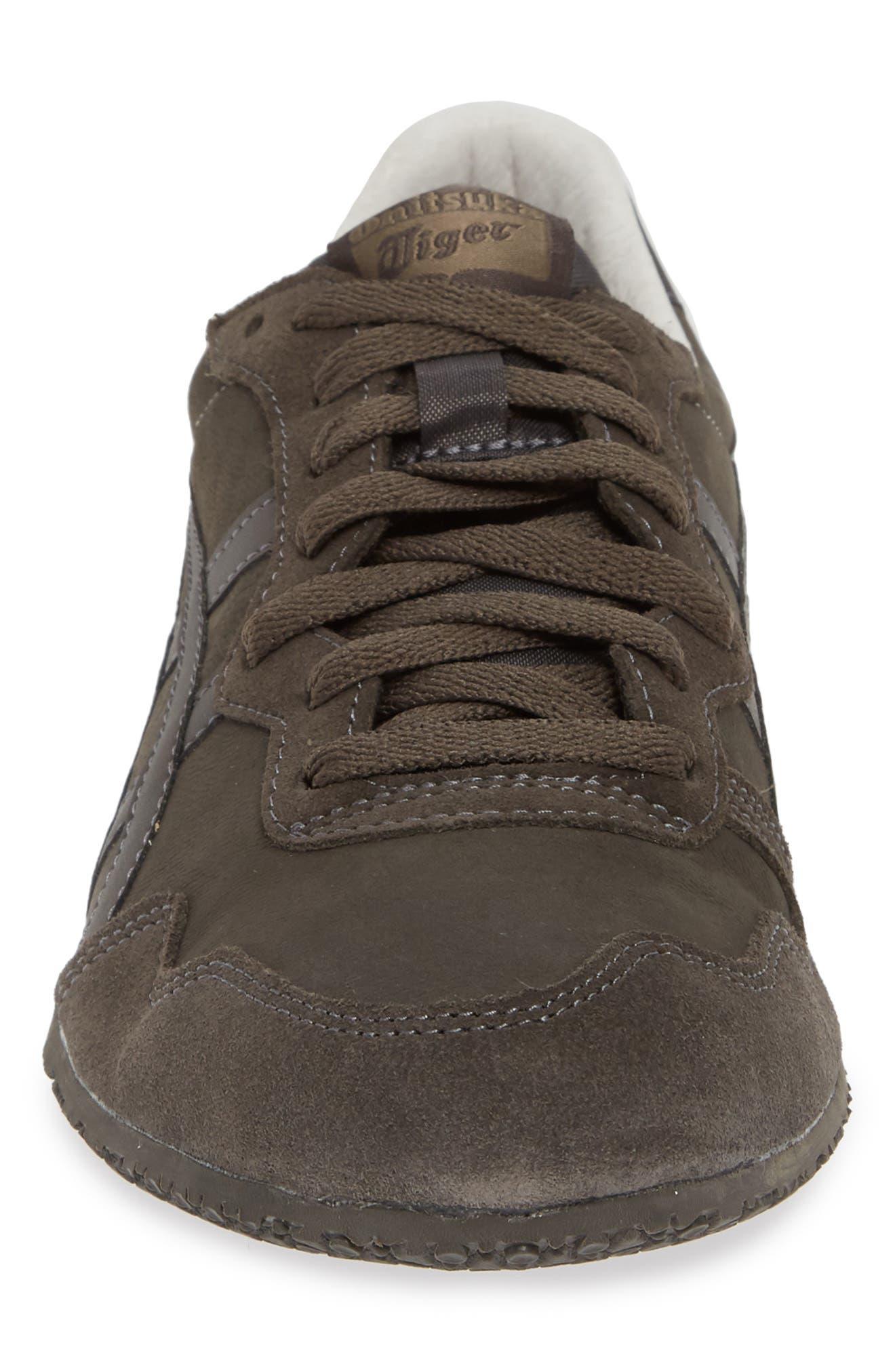 'Serrano' Sneaker,                             Alternate thumbnail 4, color,                             DARK SEPIA/ DARK SEPIA