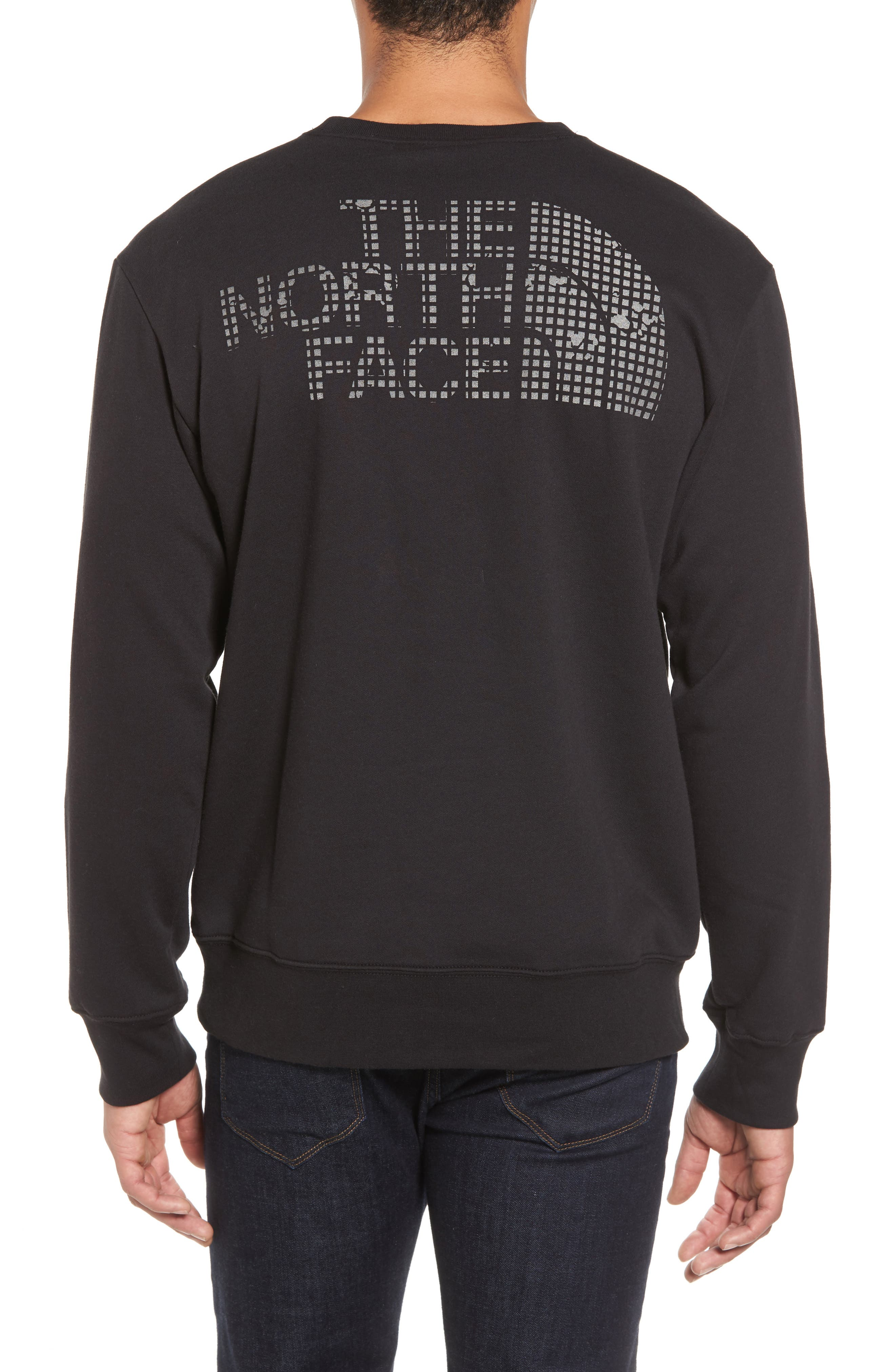 'Half Dome' Crewneck Sweatshirt,                             Alternate thumbnail 2, color,                             002