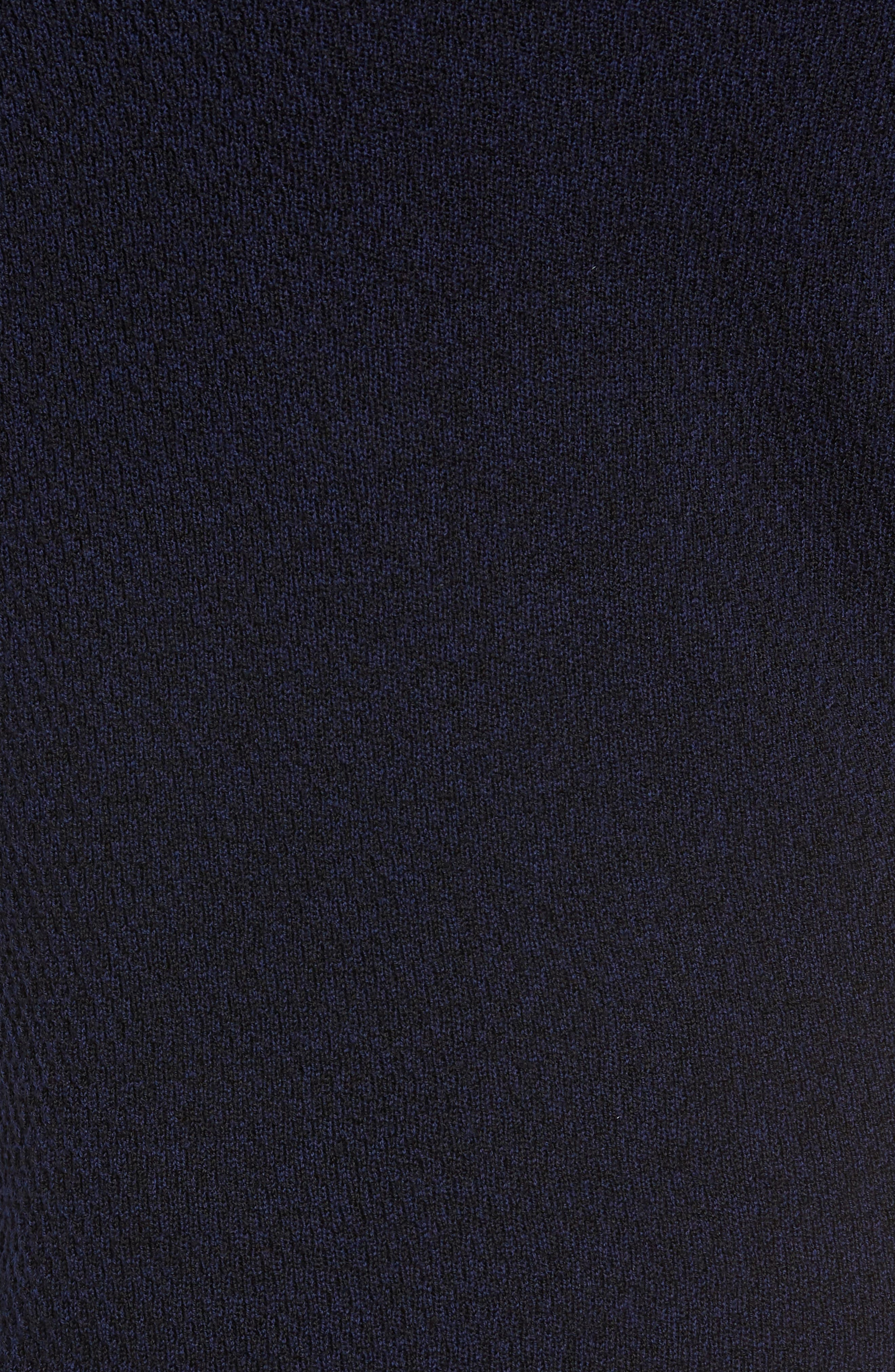 Gregory Wool Blend Crewneck Sweater,                             Alternate thumbnail 5, color,                             NAVY