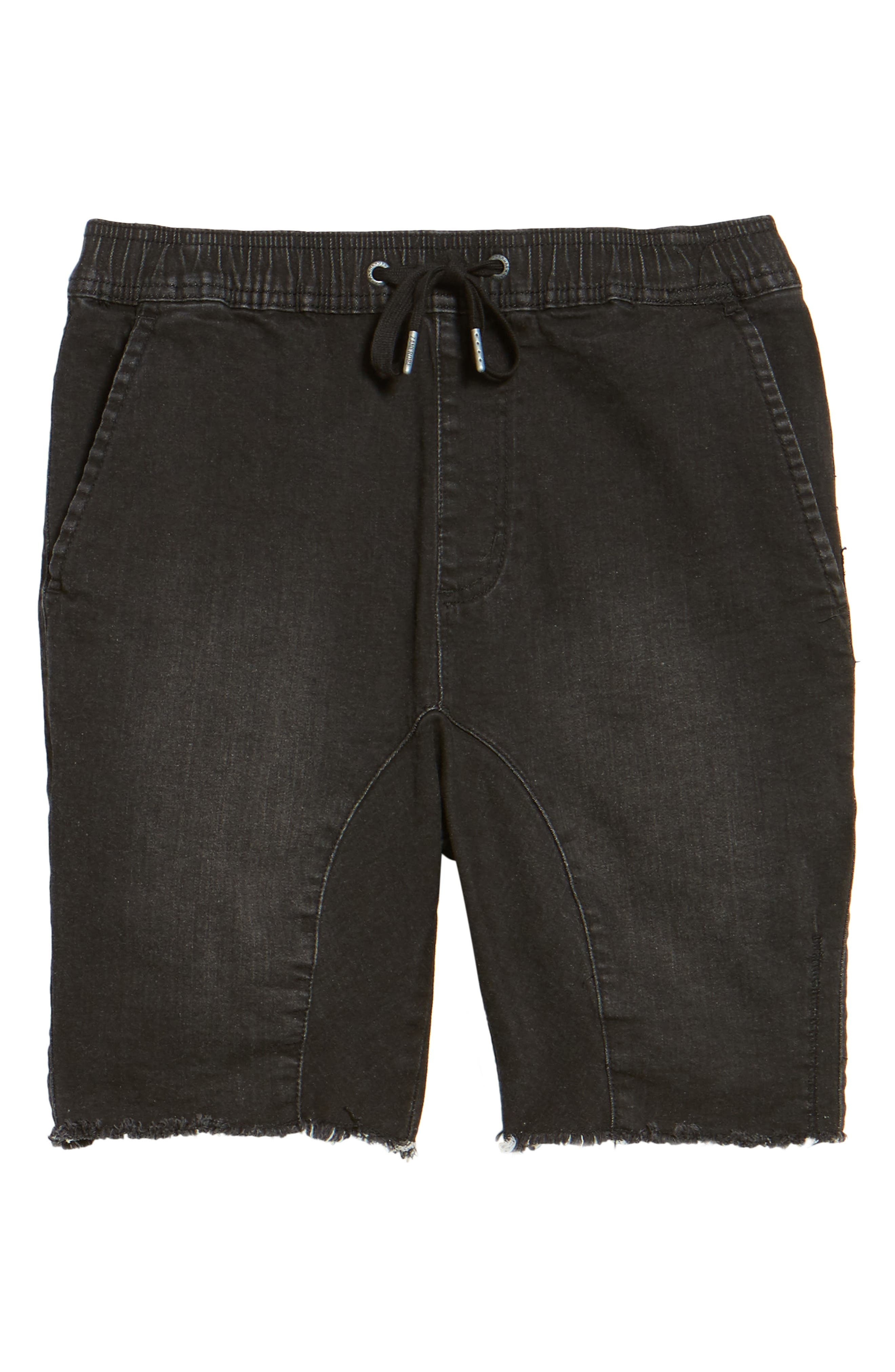 Sureshot Chino Shorts,                             Alternate thumbnail 6, color,                             BLACK WASH