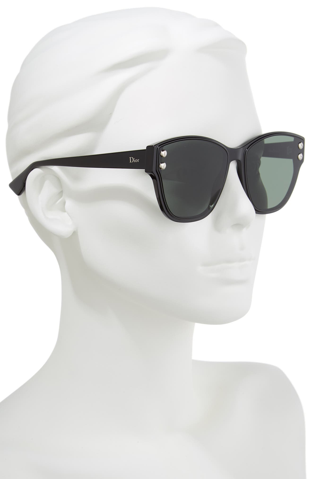 60mm Sunglasses,                             Alternate thumbnail 2, color,                             001