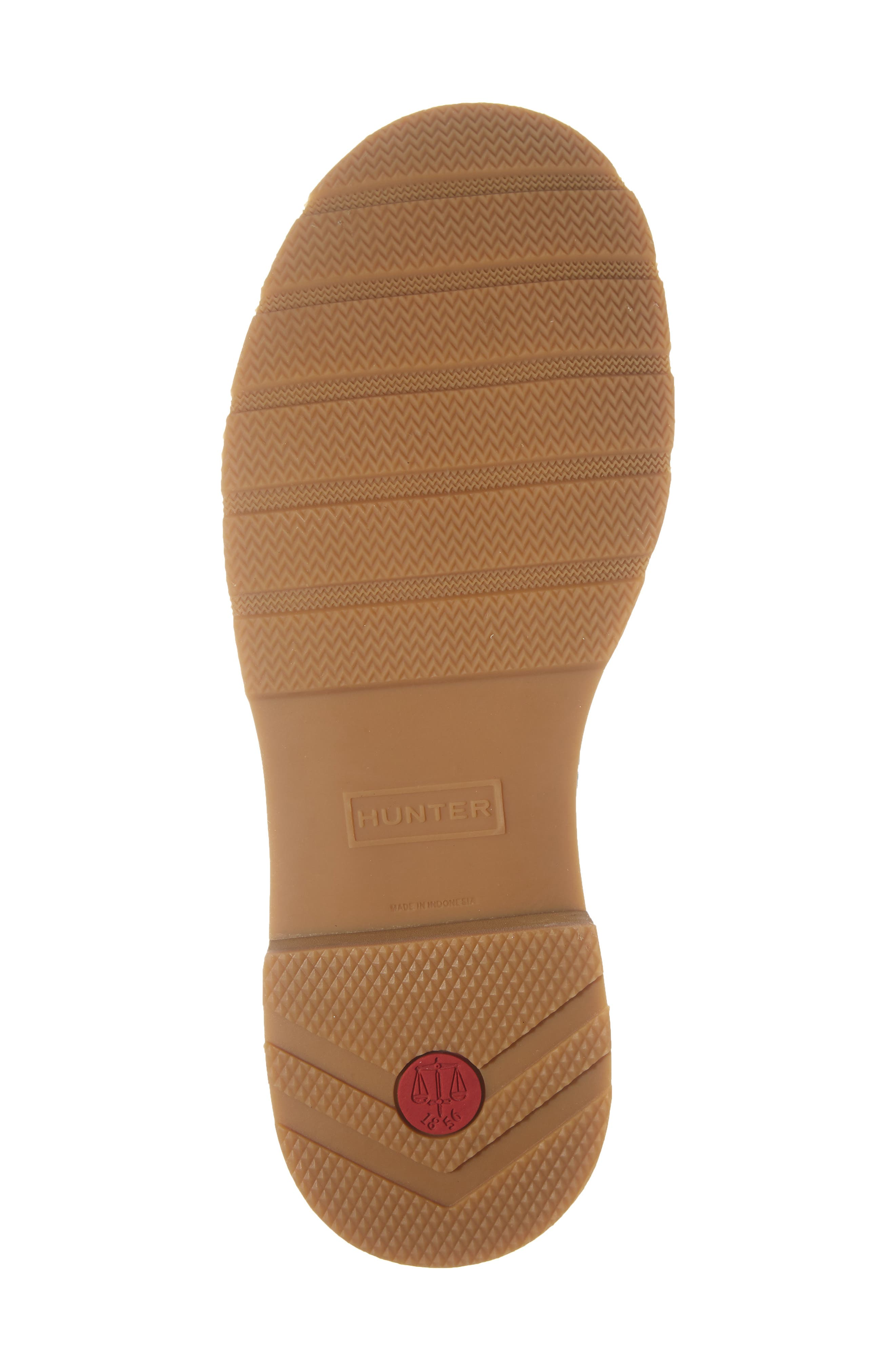 HUNTER,                             Waterproof Lightweight Short Boot,                             Alternate thumbnail 6, color,                             BLACK