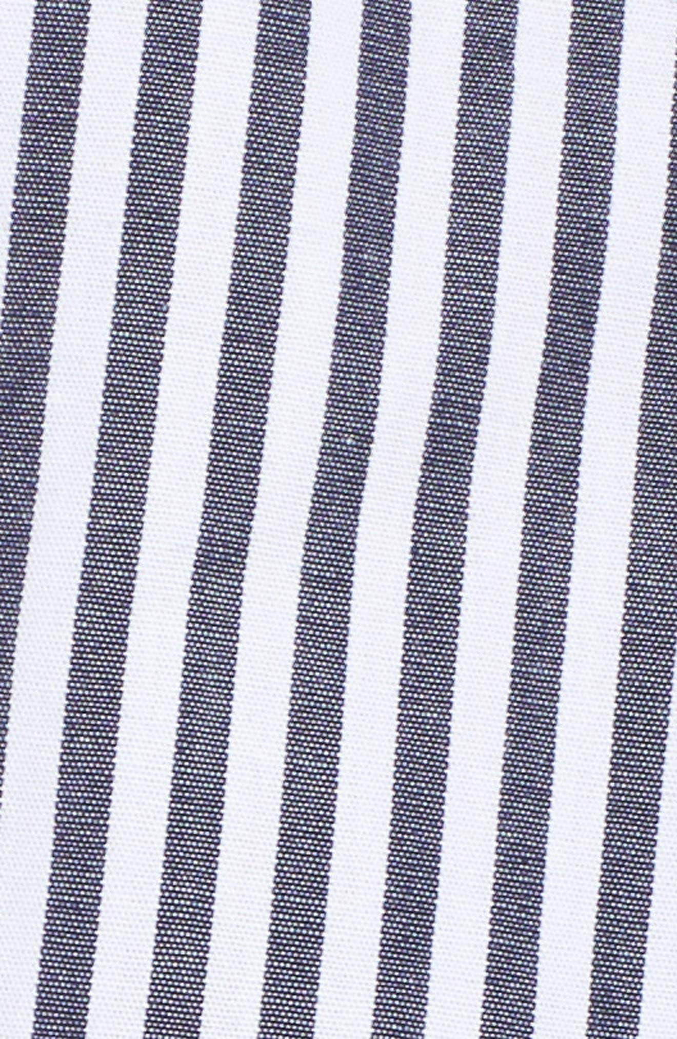 Olsen Stripe Shirtdress,                             Alternate thumbnail 5, color,