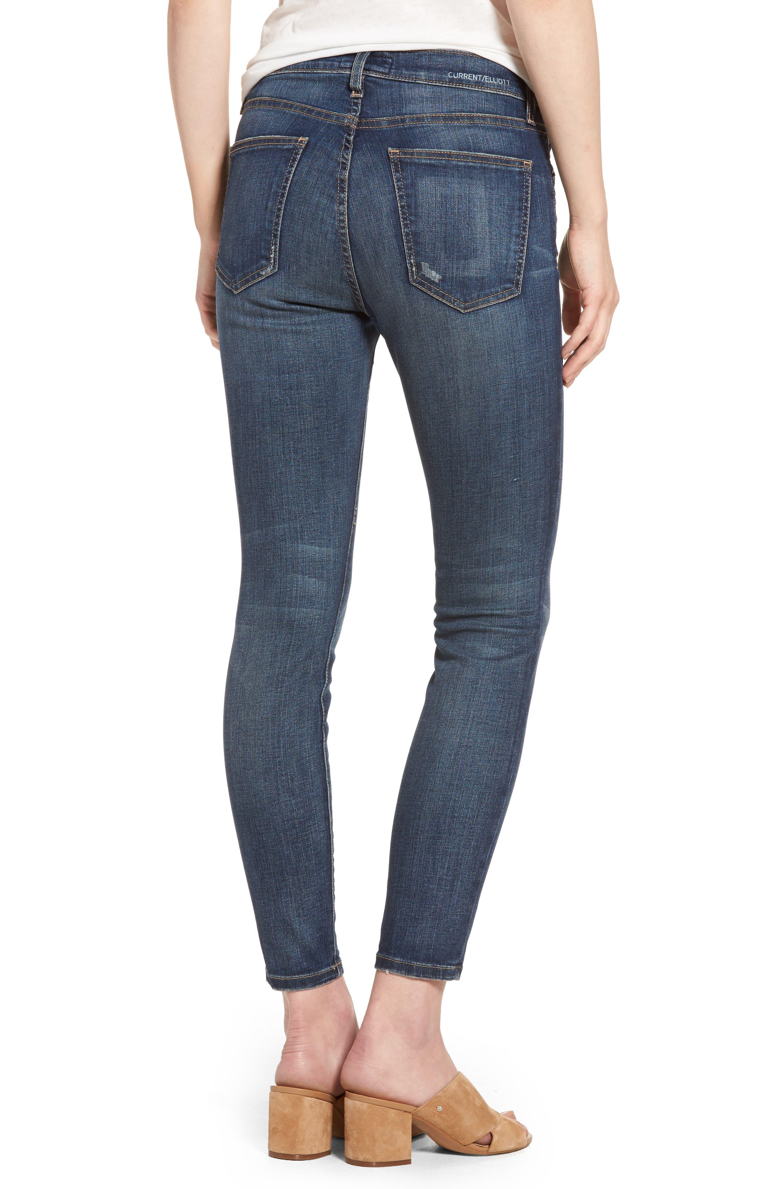 The Stiletto High Waist Skinny Jeans,                             Alternate thumbnail 2, color,                             477