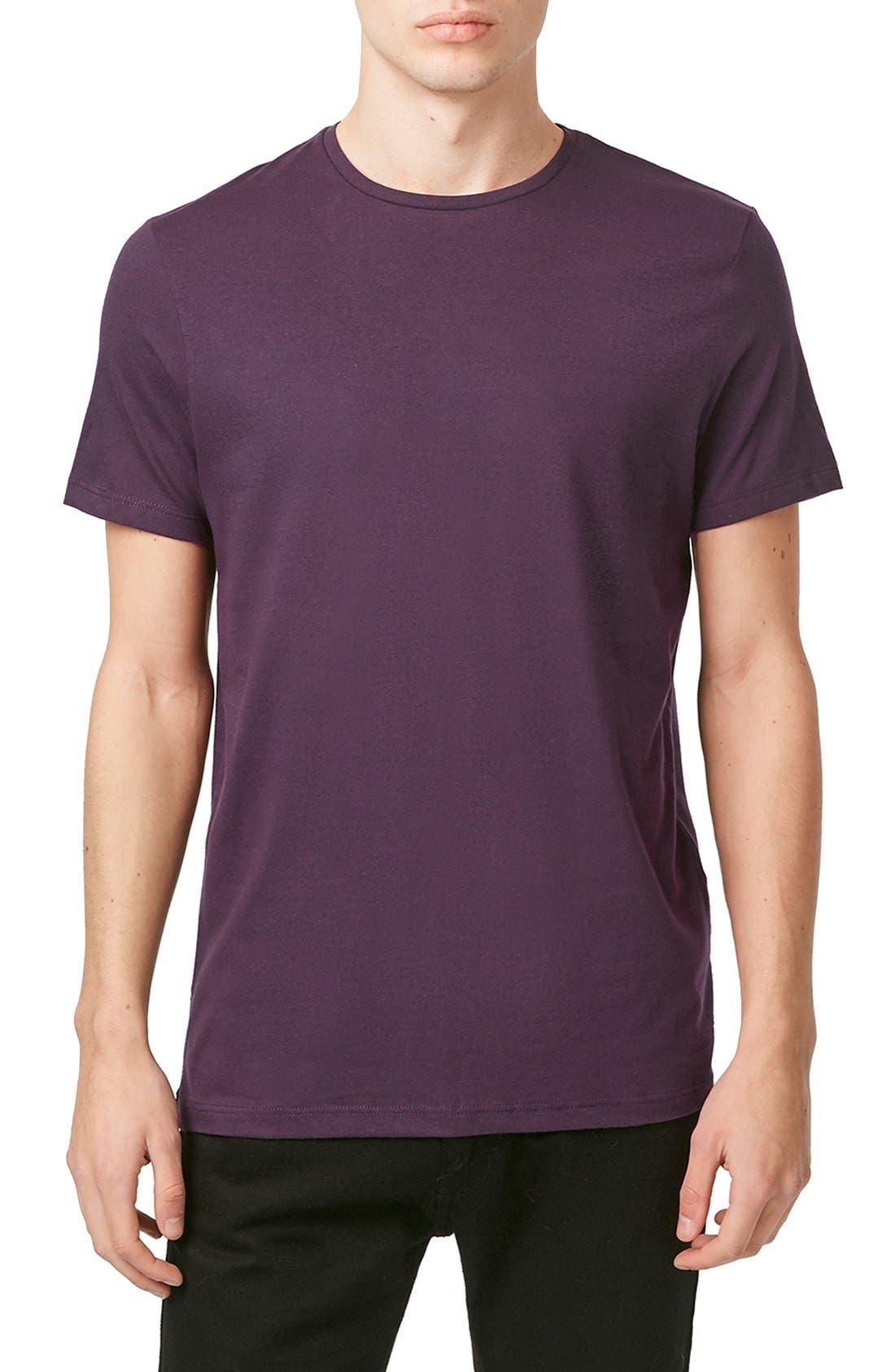 Slim Fit Crewneck T-Shirt,                             Main thumbnail 73, color,