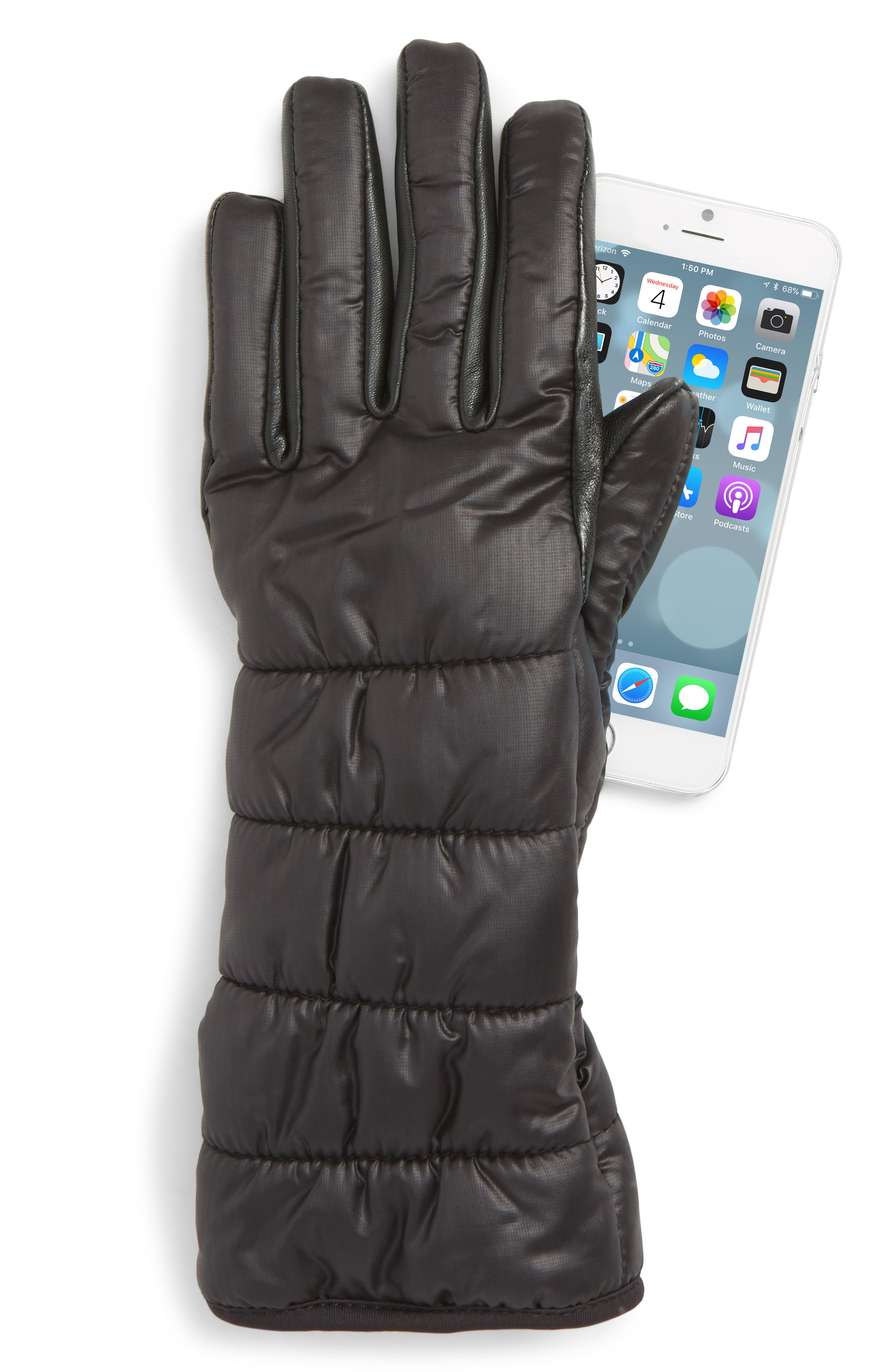 Extreme Cold Weather Waterproof Touchscreen-Compatible Gloves,                             Alternate thumbnail 2, color,                             001