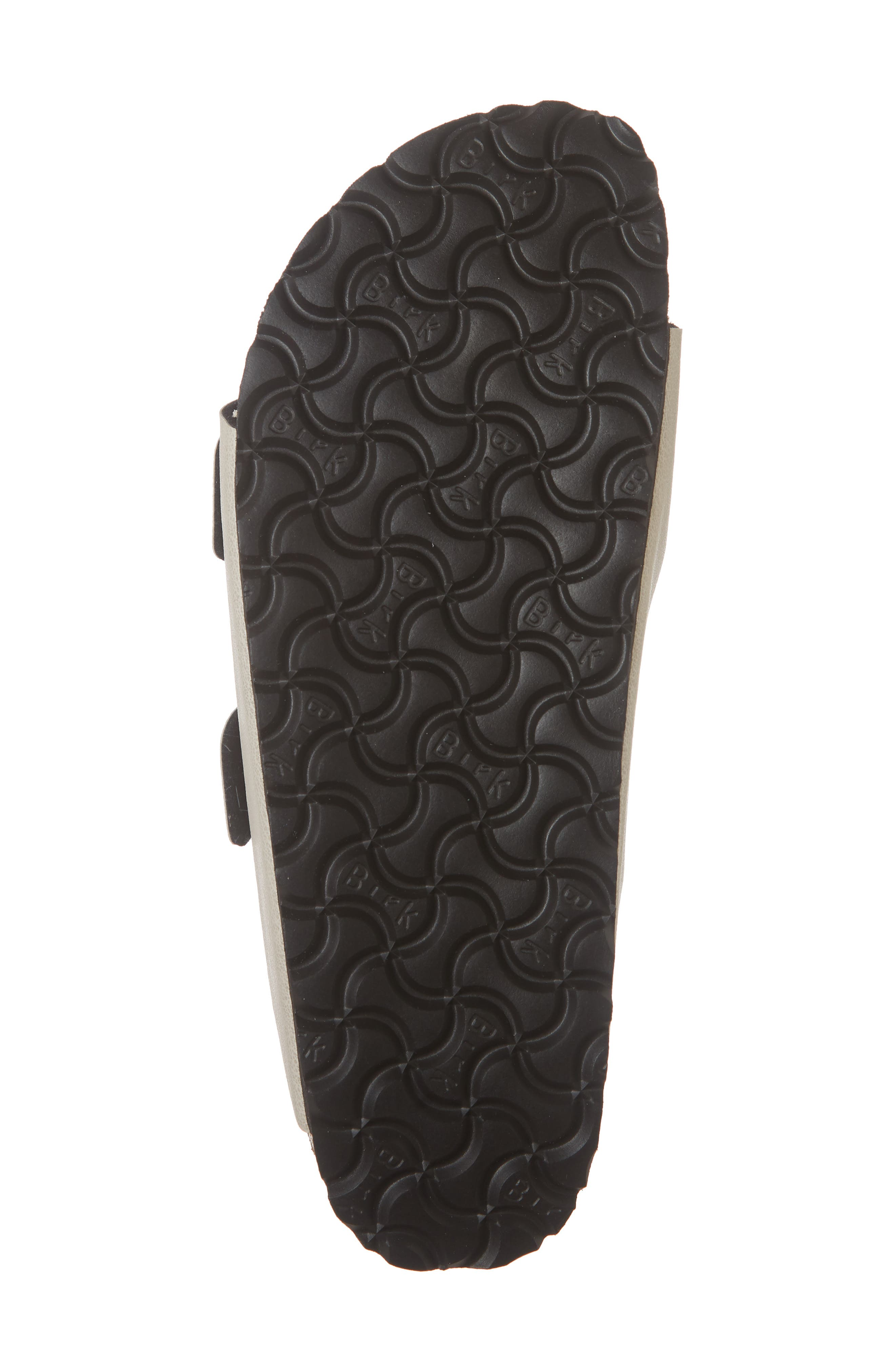 Arizona Birko-Flor<sup>™</sup> Slide Sandal,                             Alternate thumbnail 6, color,                             PULL UP STONE FAUX LEATHER