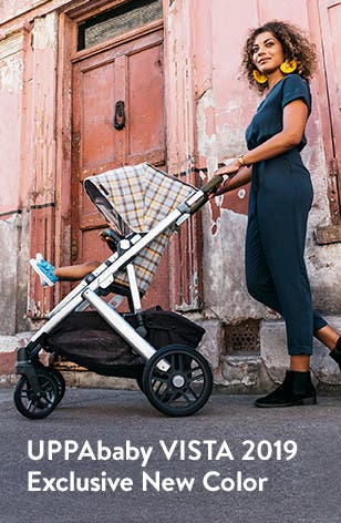 UPPAbaby VISTA 2019 stroller: exclusive new color launch.