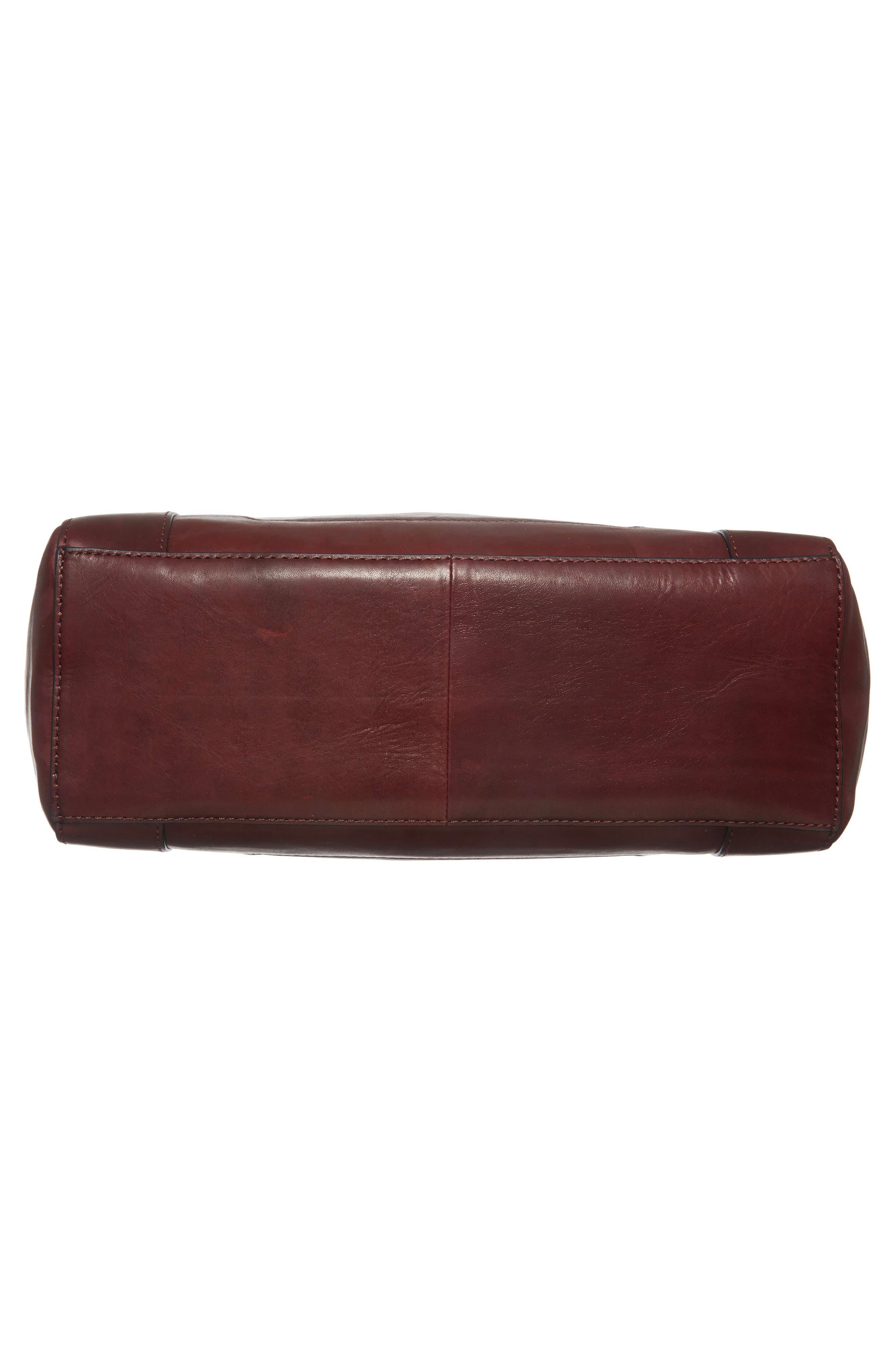 Melissa Leather Shoulder Bag,                             Alternate thumbnail 18, color,