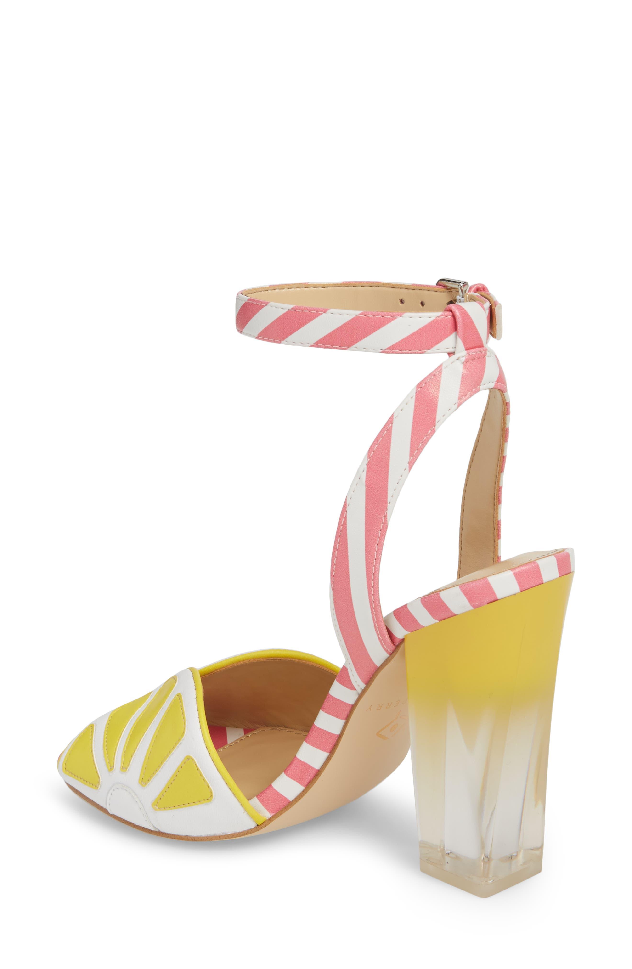 The Citron Sandal,                             Alternate thumbnail 2, color,                             YELLOW/ WHITE LEATHER