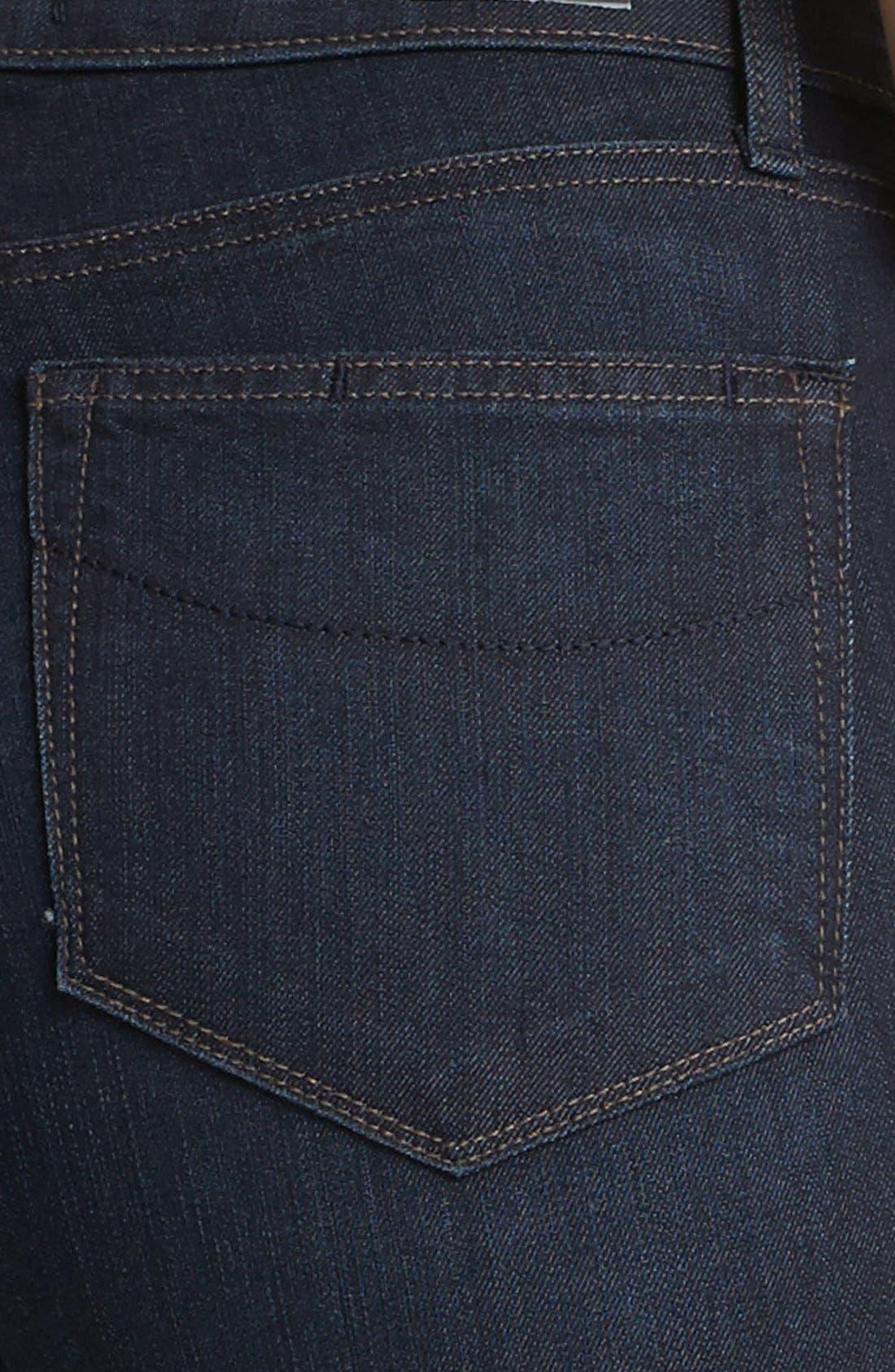 Denim 'Hoxton' High Rise Straight Leg Jeans,                             Alternate thumbnail 2, color,                             400