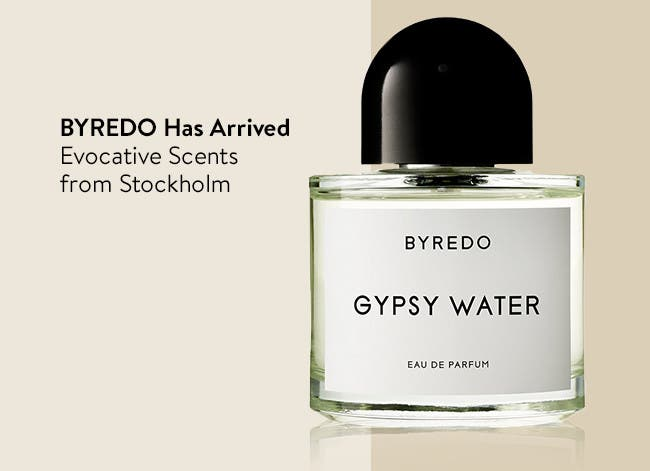 BYREDO perfume has arrived.