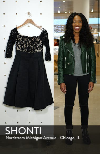 Off the Shoulder A-Line Dress, sales video thumbnail