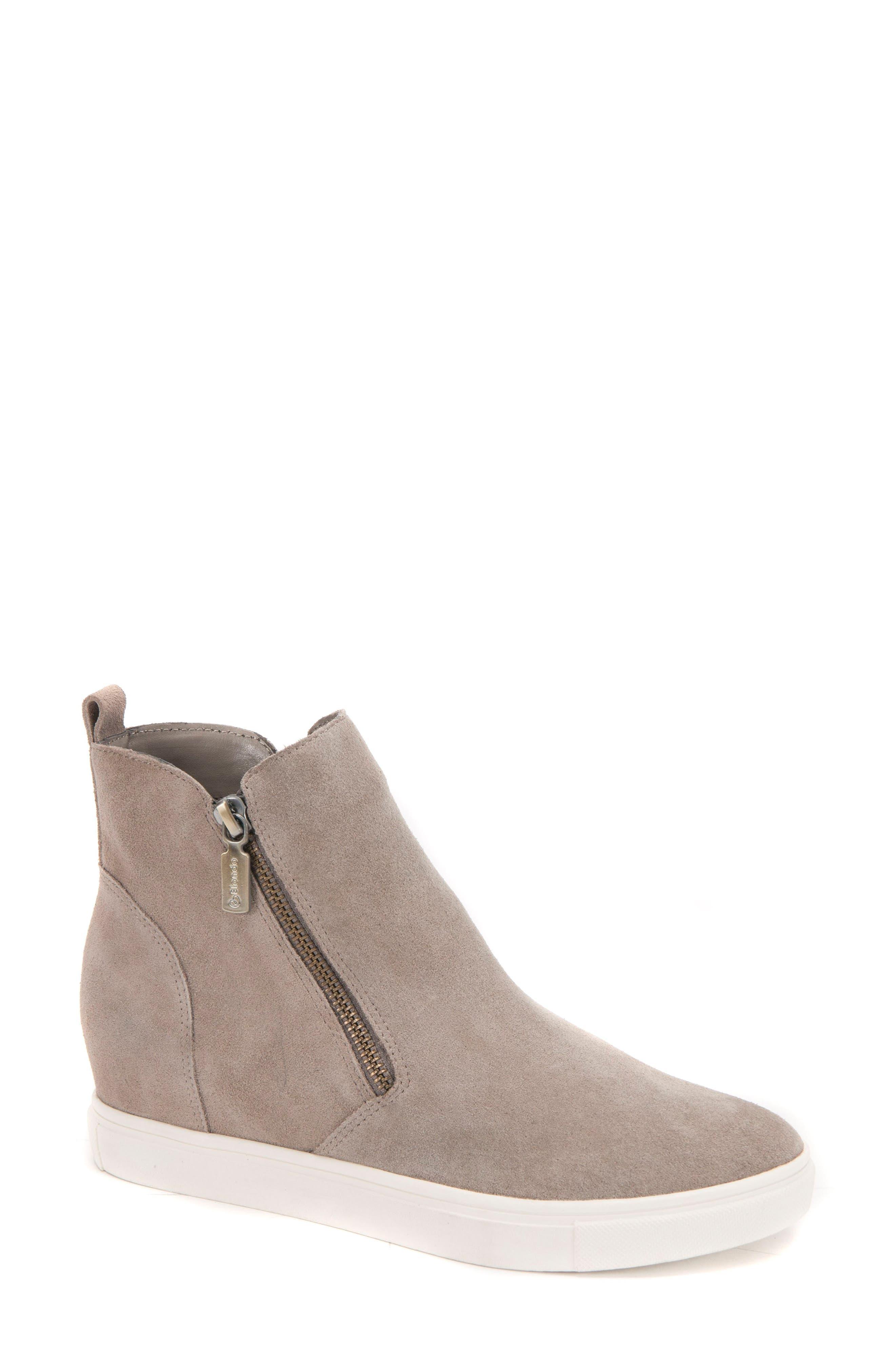 Blondo Giselle Waterproof Sneaker- Grey