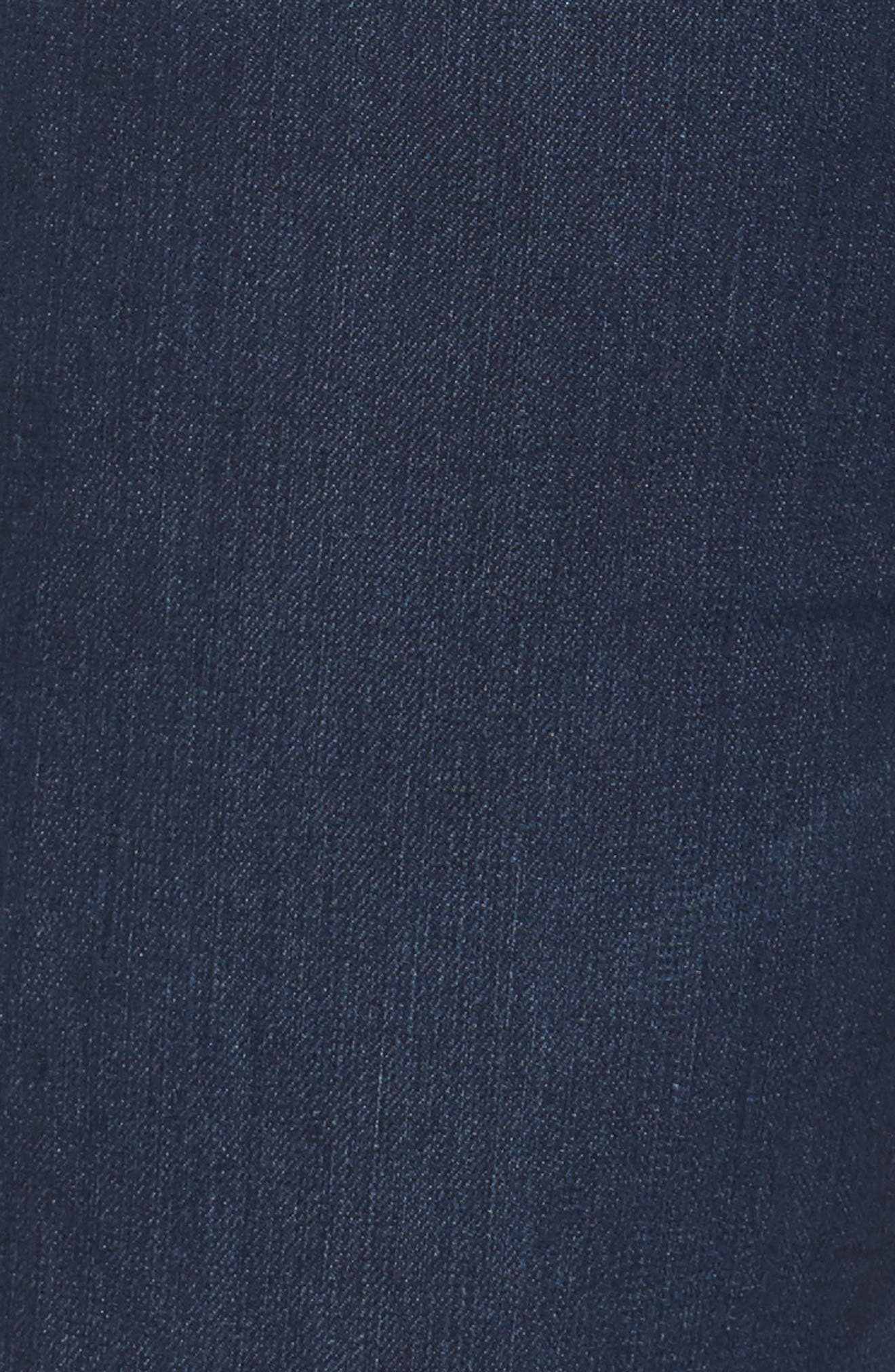 Ab-Solution Stretch Straight Leg Jeans,                             Alternate thumbnail 5, color,                             INDIGO