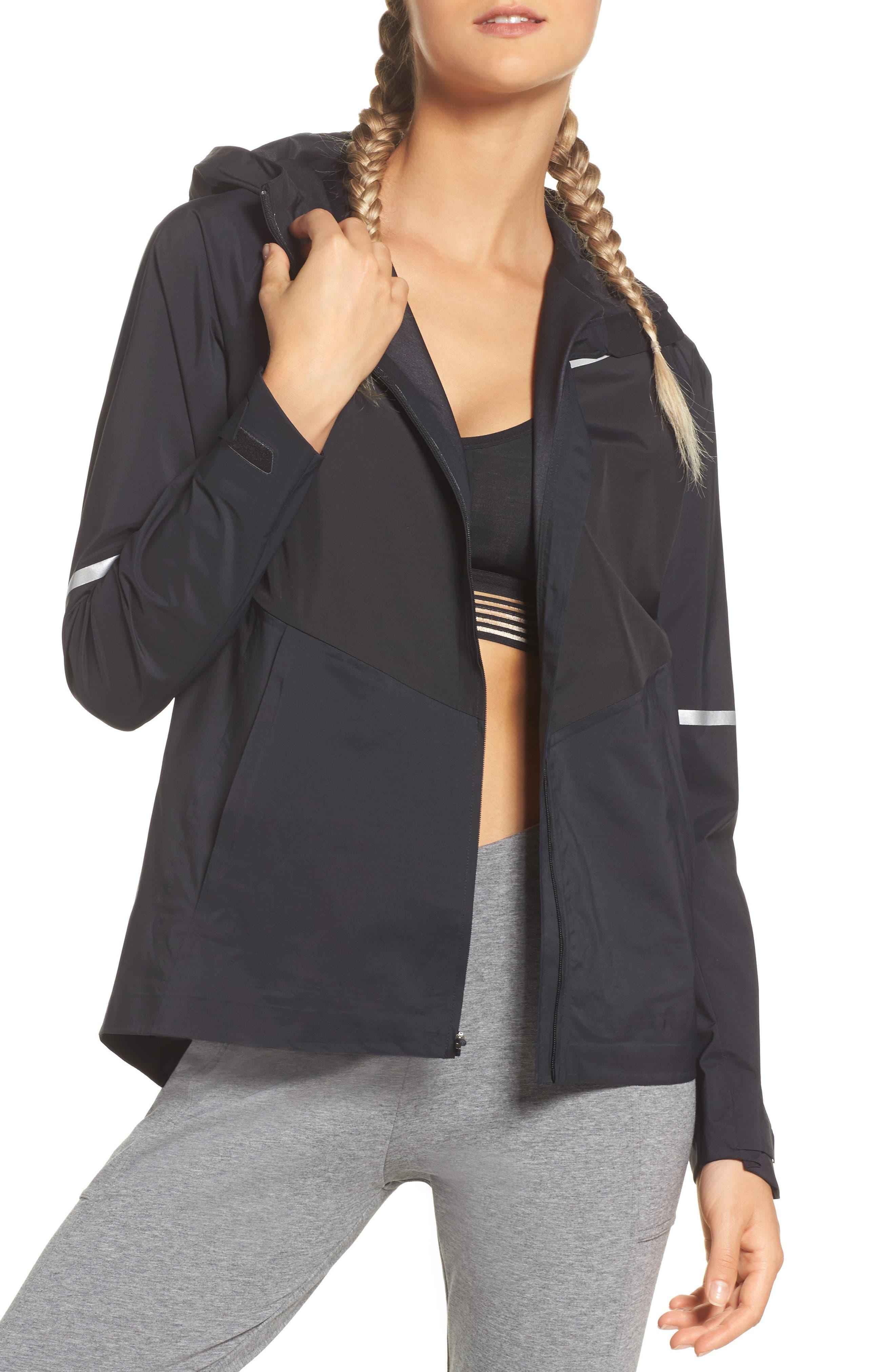 Zonal AeroShield Hooded Running Jacket,                         Main,                         color, 010