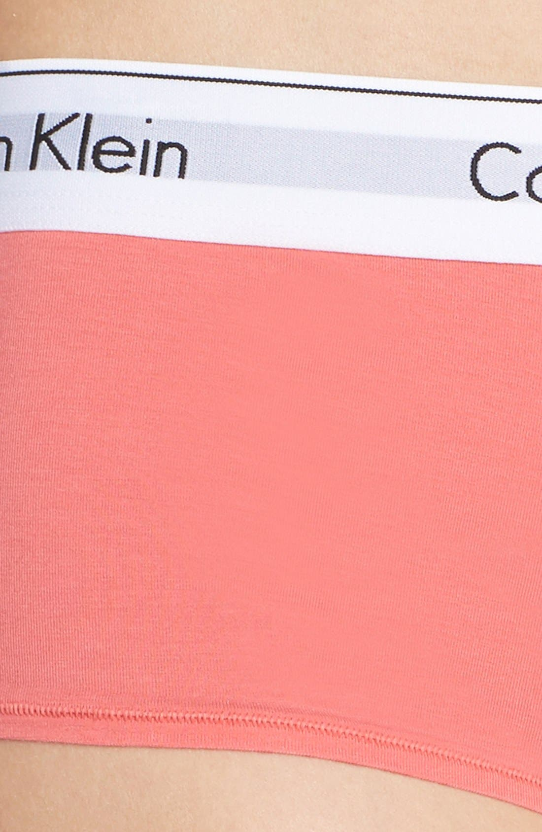 Modern Cotton Collection Boyshorts,                             Alternate thumbnail 98, color,