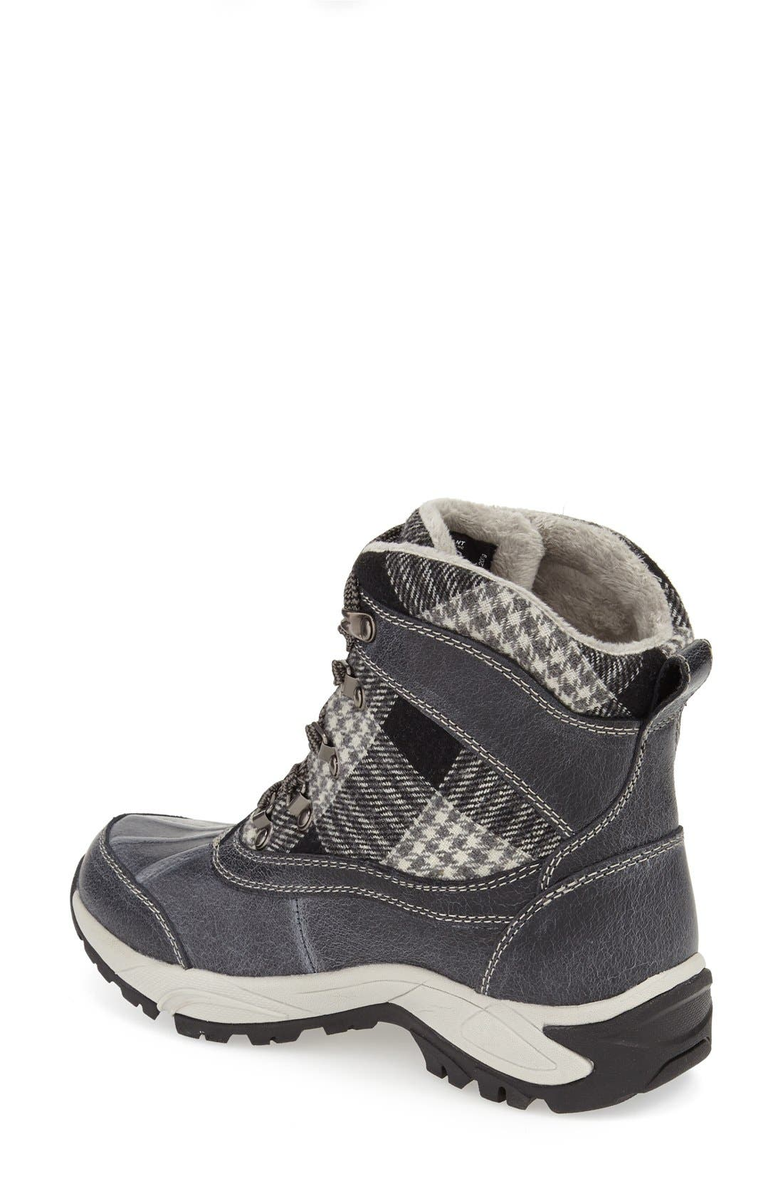 Rochelle Waterproof Insulated Winter Boot,                             Alternate thumbnail 3, color,                             002