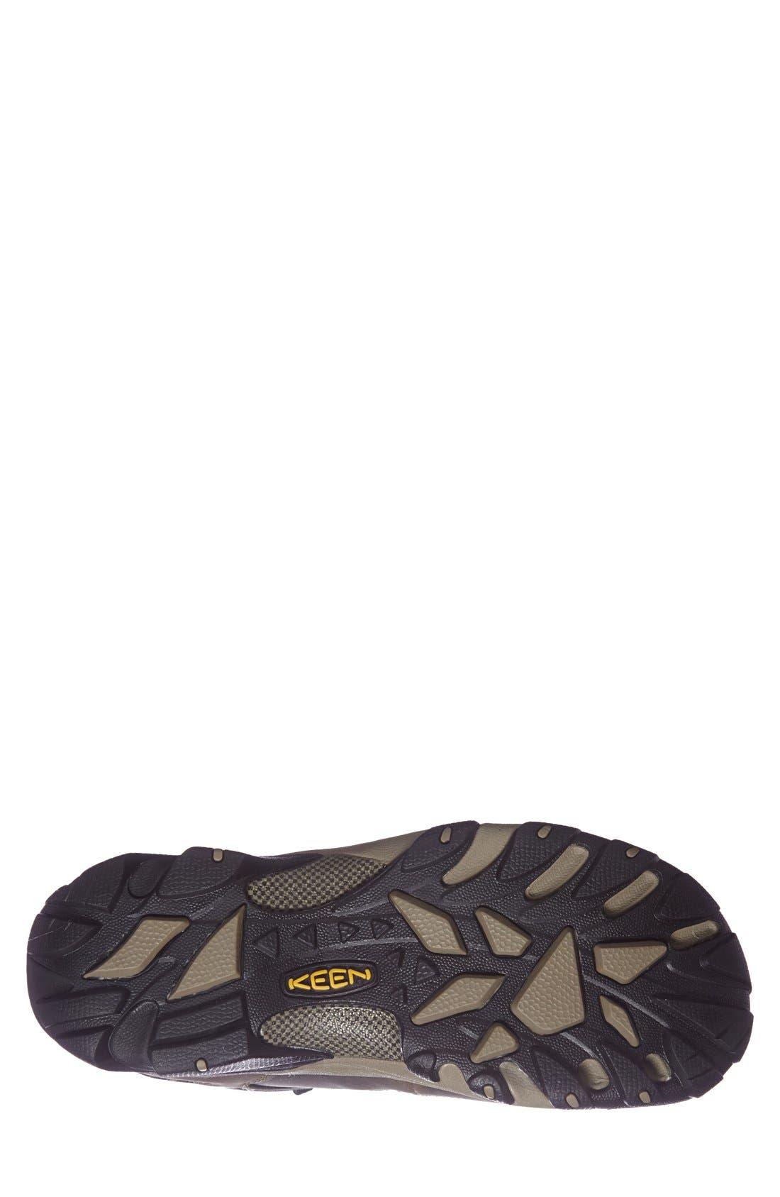 Targhee II Mid Hiking Waterproof Boot,                             Alternate thumbnail 4, color,                             SHITAKE/ BRINDLE