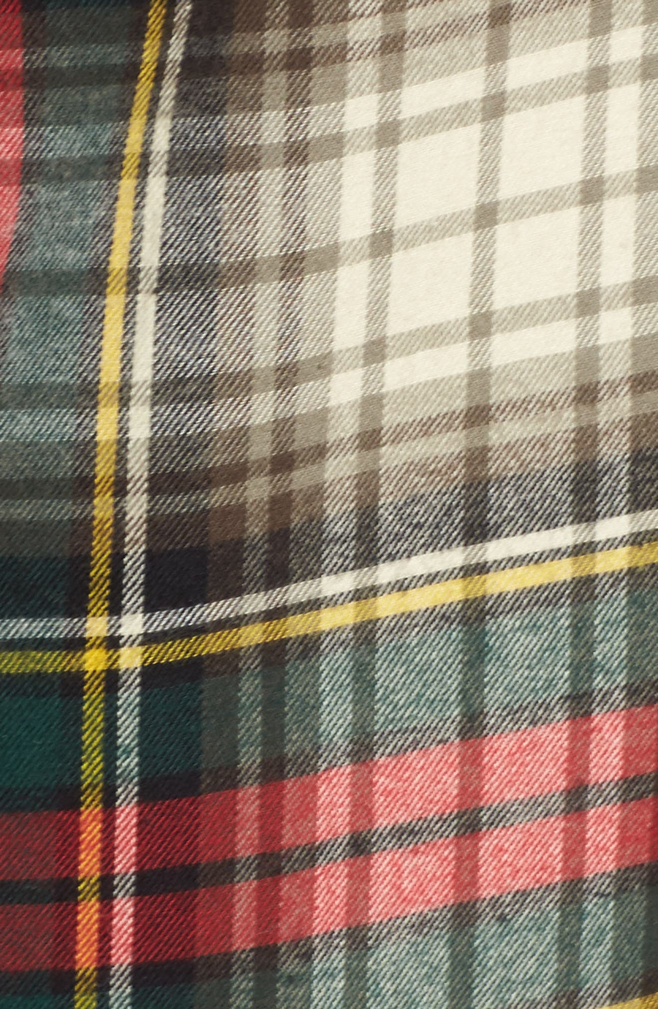 Flannel Sleep Shirt,                             Alternate thumbnail 19, color,
