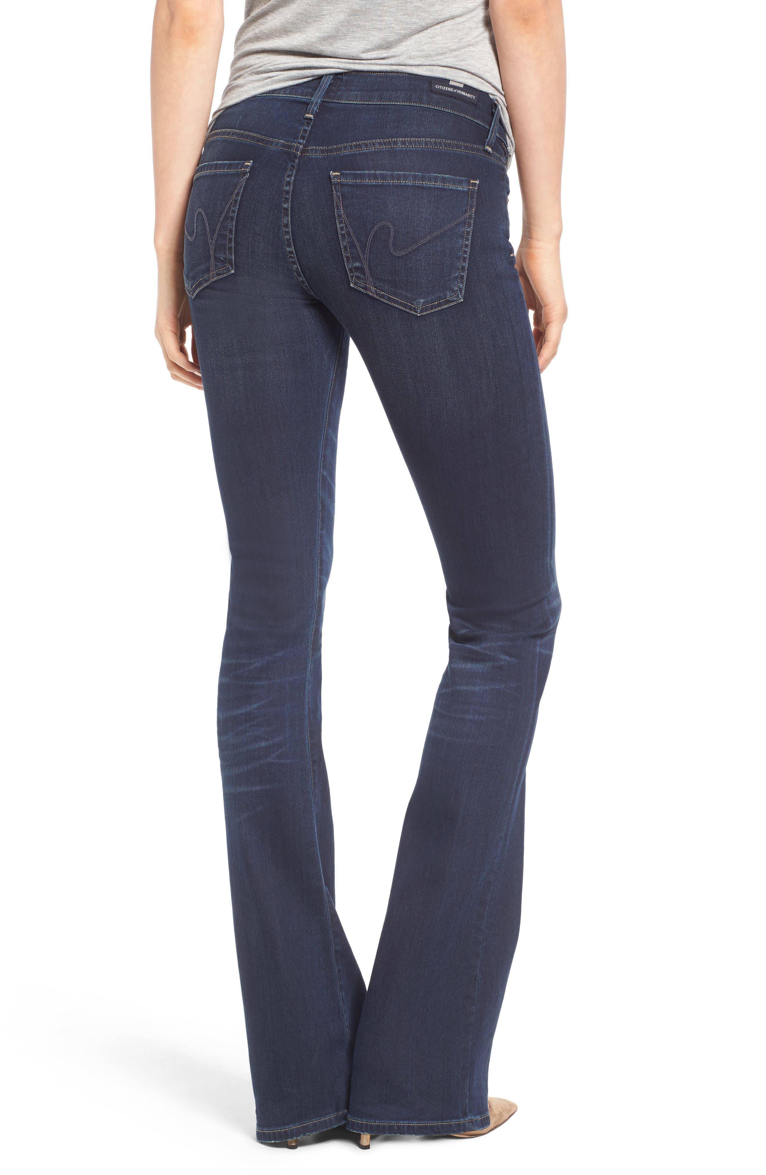 Emmanuelle Slim Bootcut Jeans,                             Alternate thumbnail 2, color,                             405