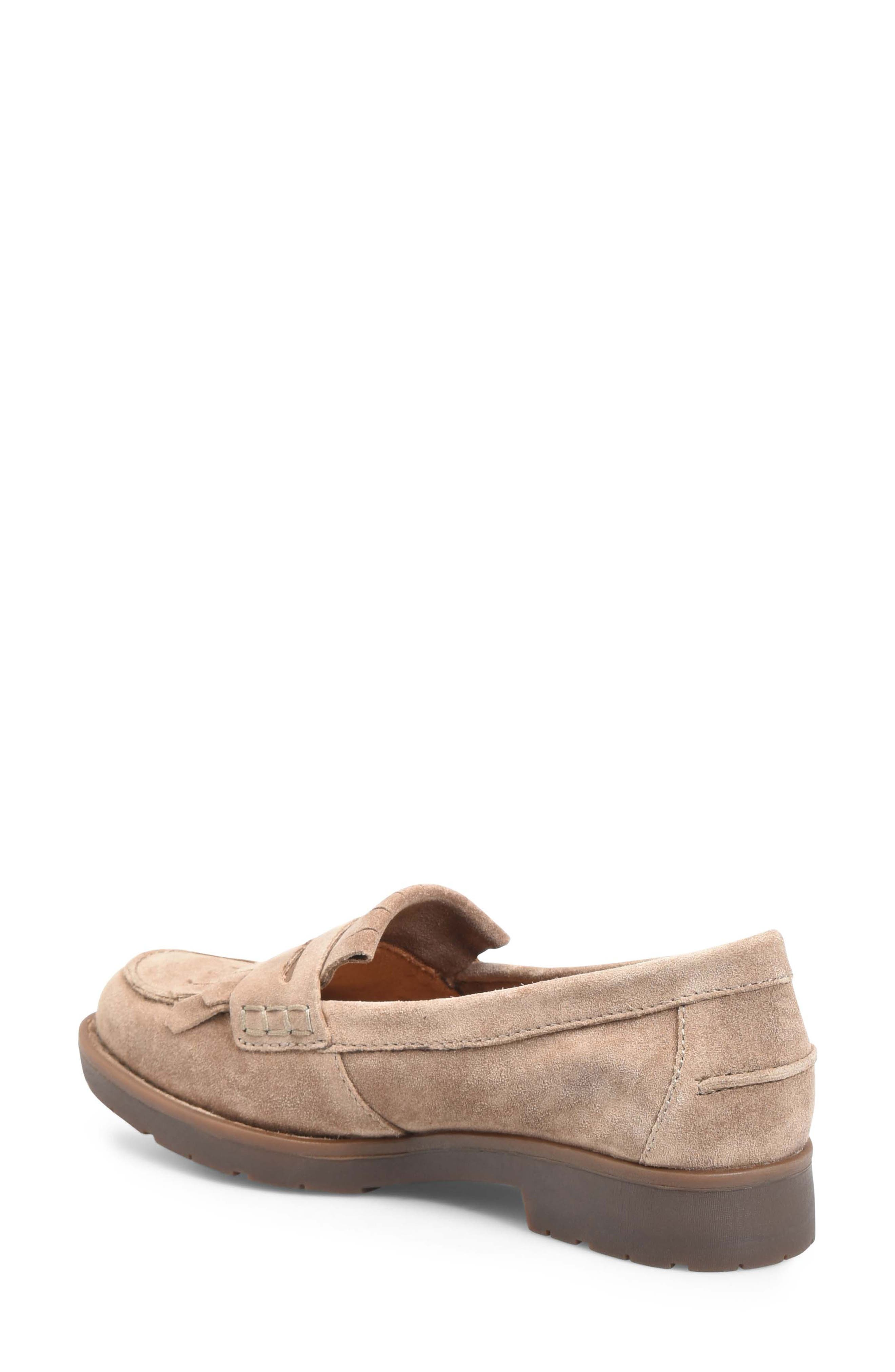 Lorens Loafer,                             Alternate thumbnail 2, color,                             TAUPE SUEDE