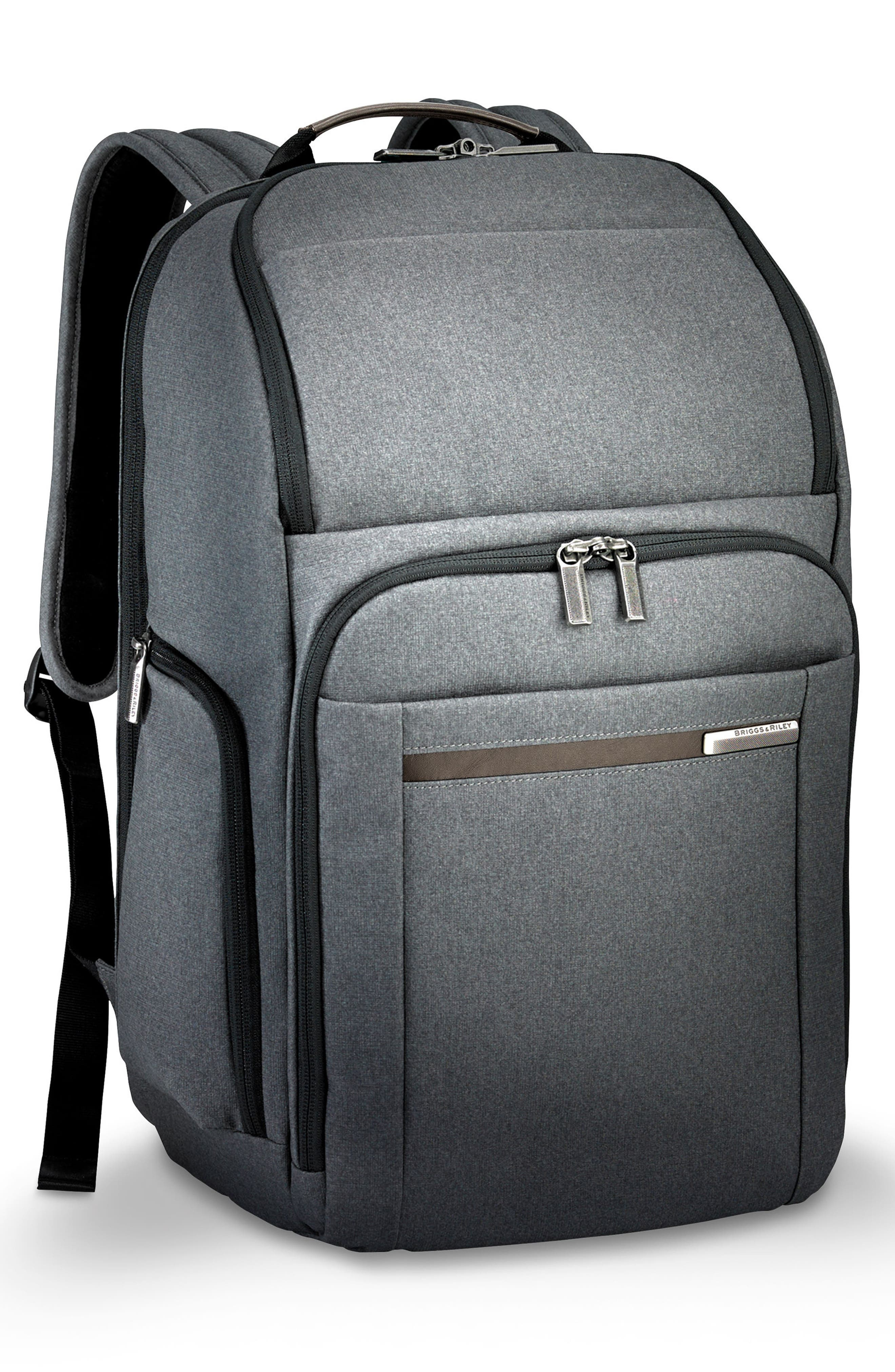 Kinzie Street Backpack,                             Alternate thumbnail 4, color,                             GREY