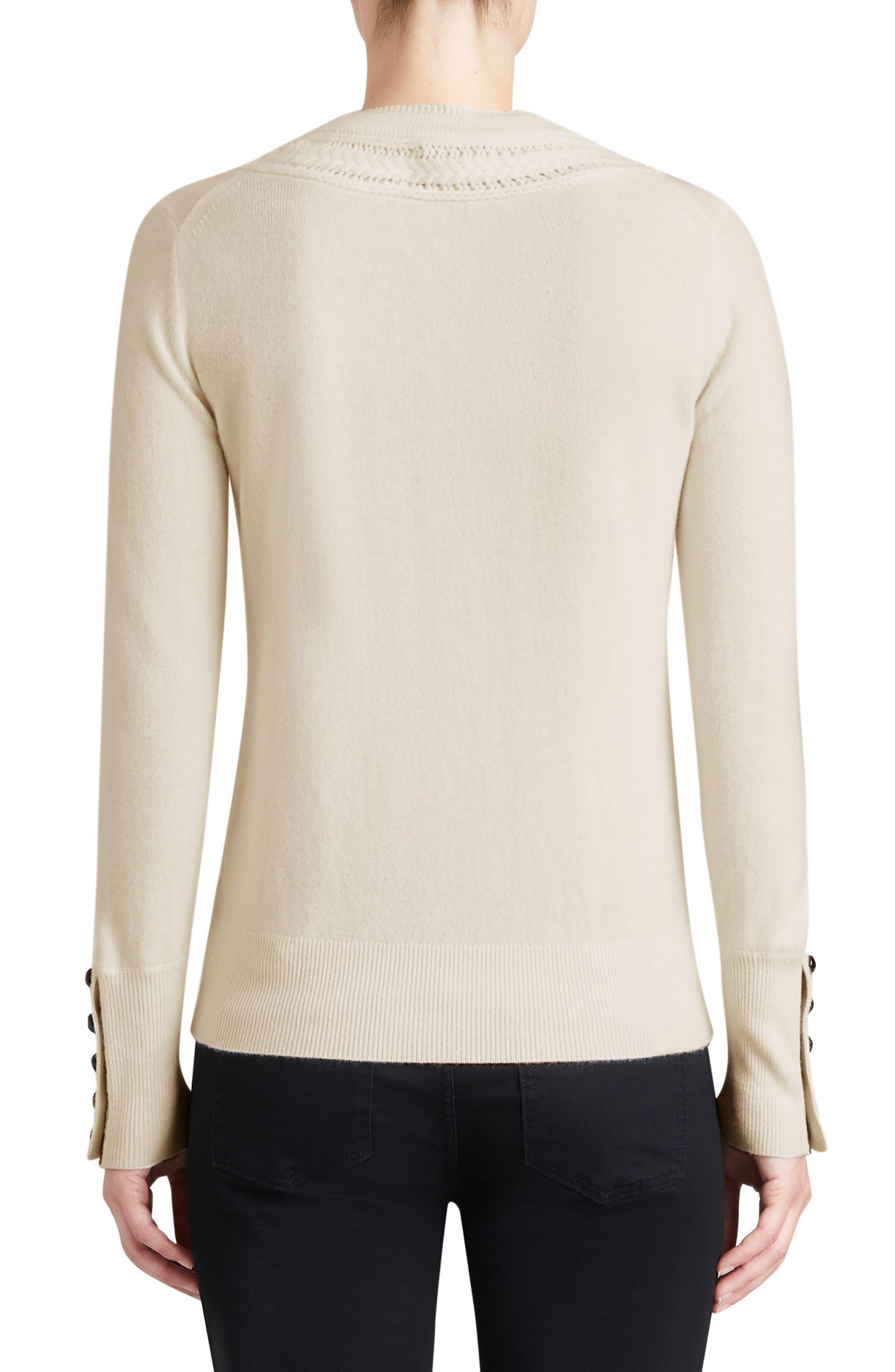 Carapelle Cashmere Sweater,                             Alternate thumbnail 5, color,