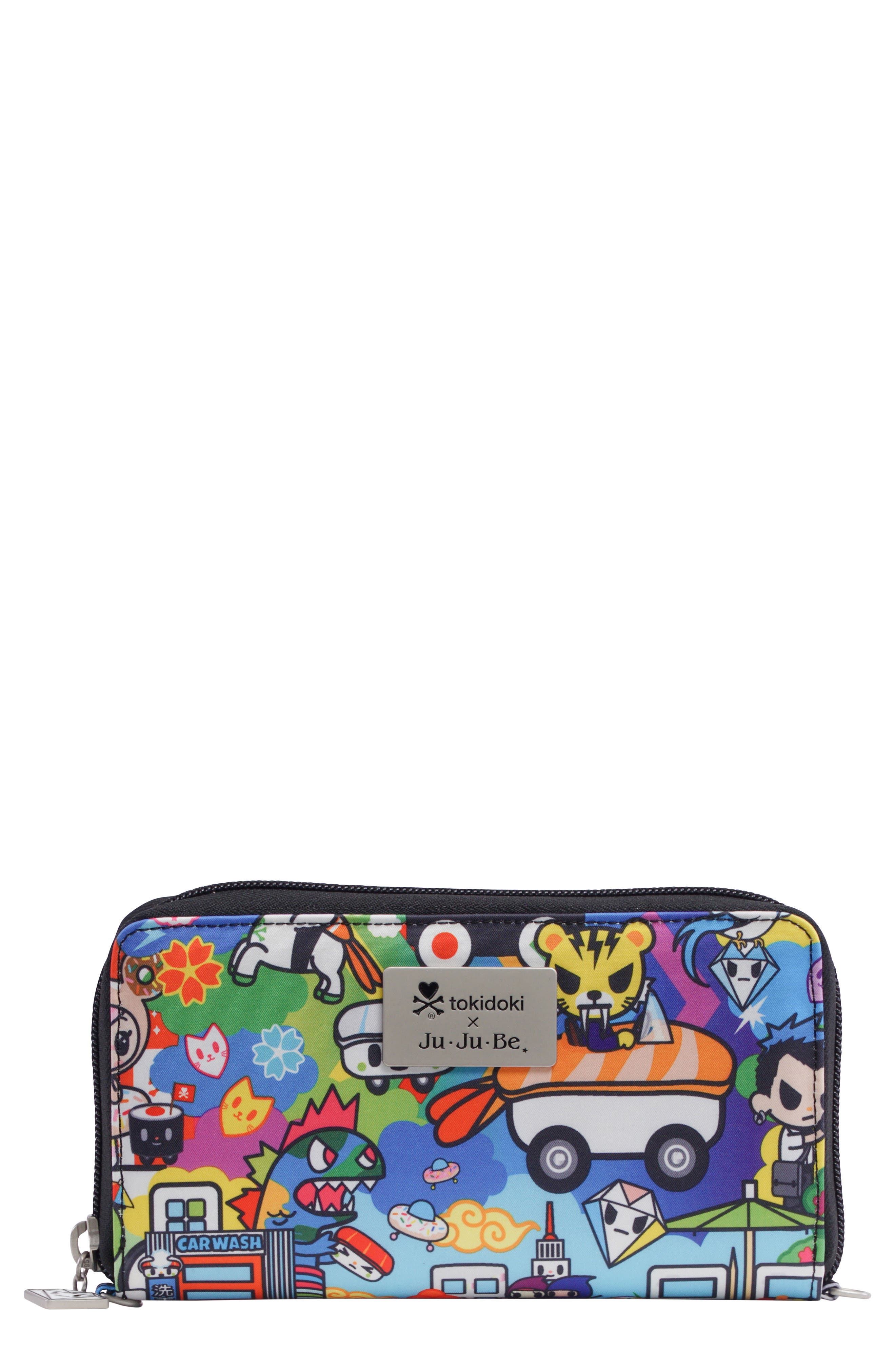 x tokidoki Be Spendy Clutch Wallet,                             Main thumbnail 1, color,                             100