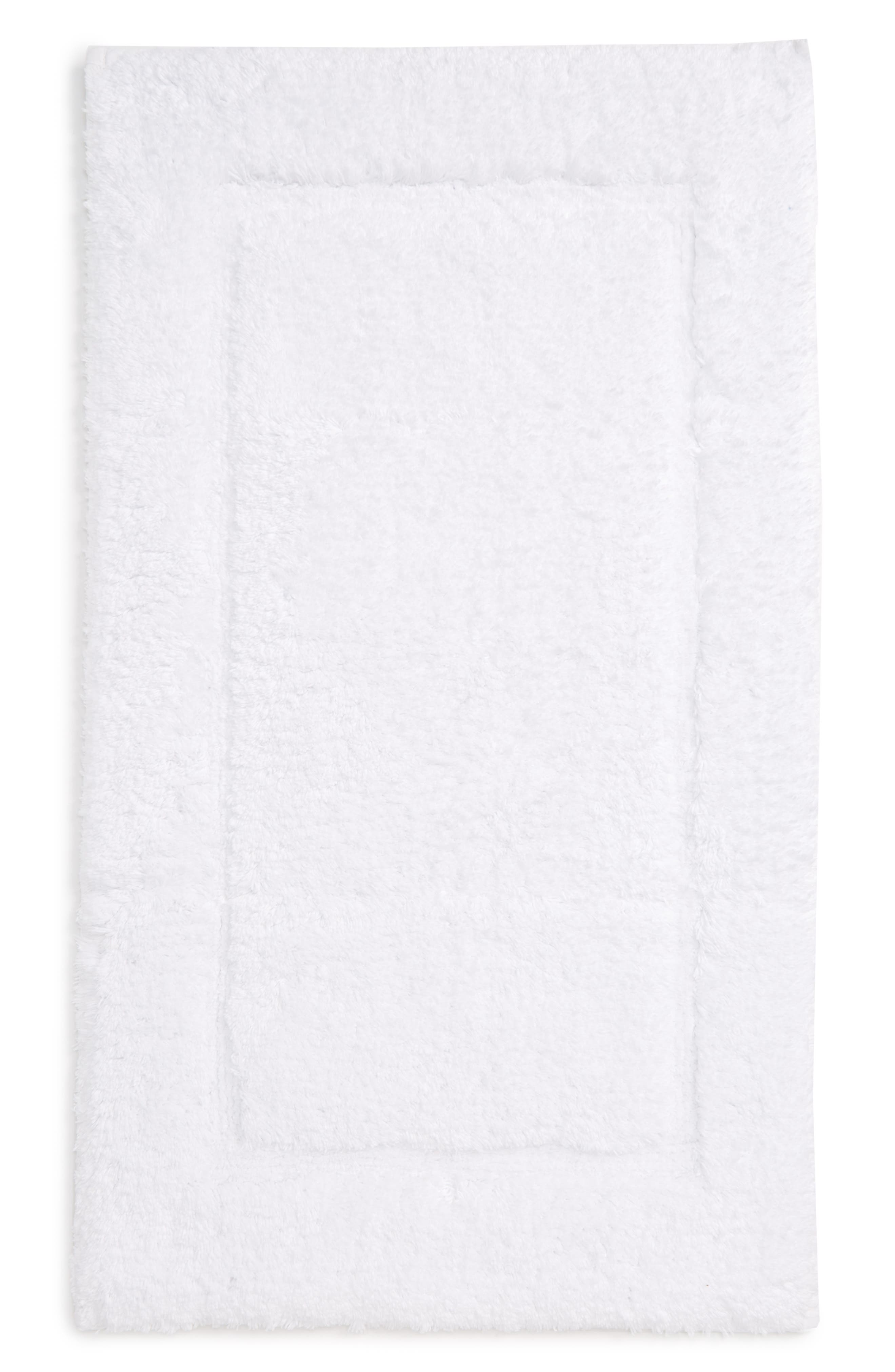 MATOUK Milagro Bath Rug, Main, color, WHITE