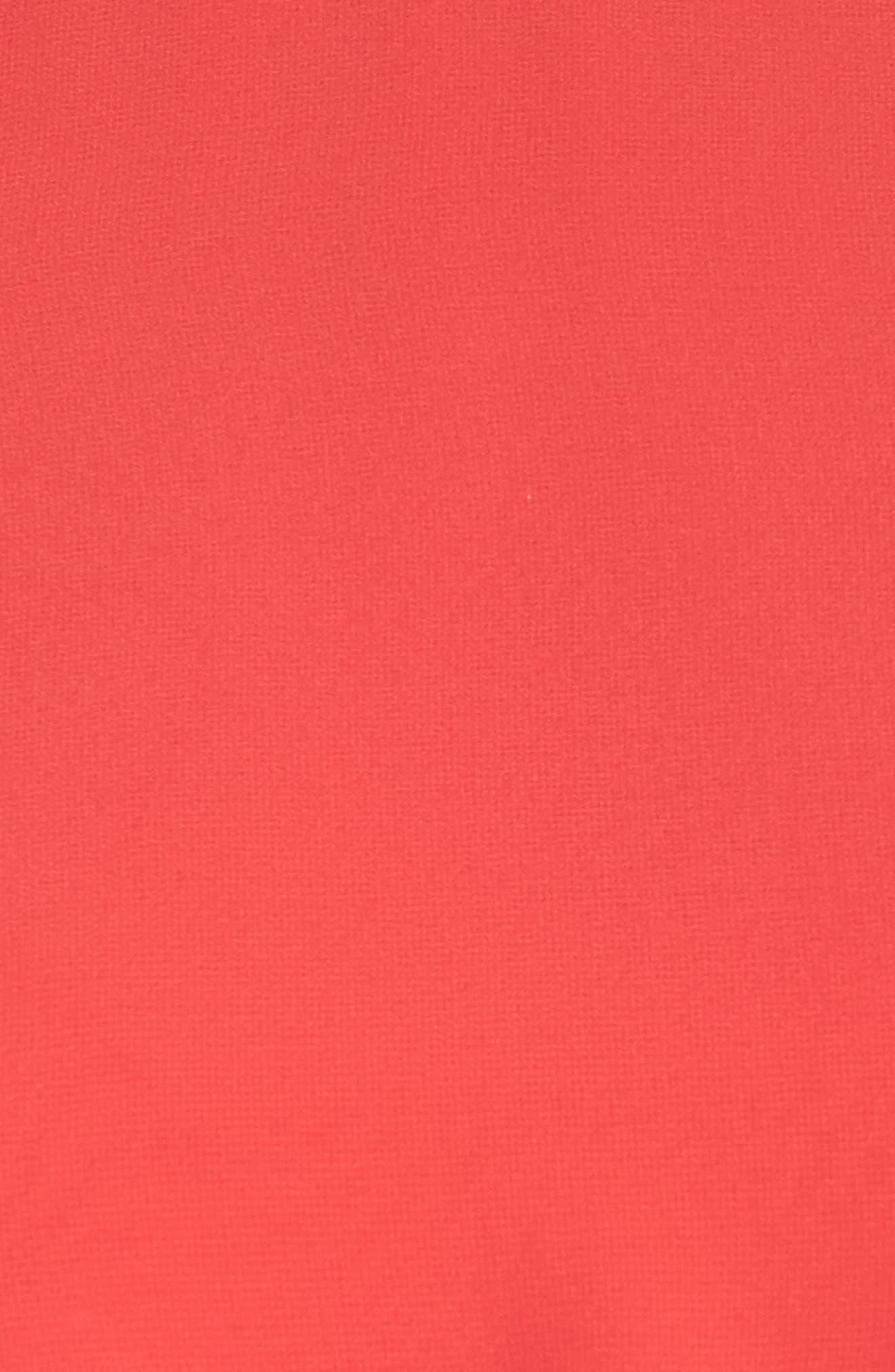 Cold Shoulder Midi Dress,                             Alternate thumbnail 5, color,                             650