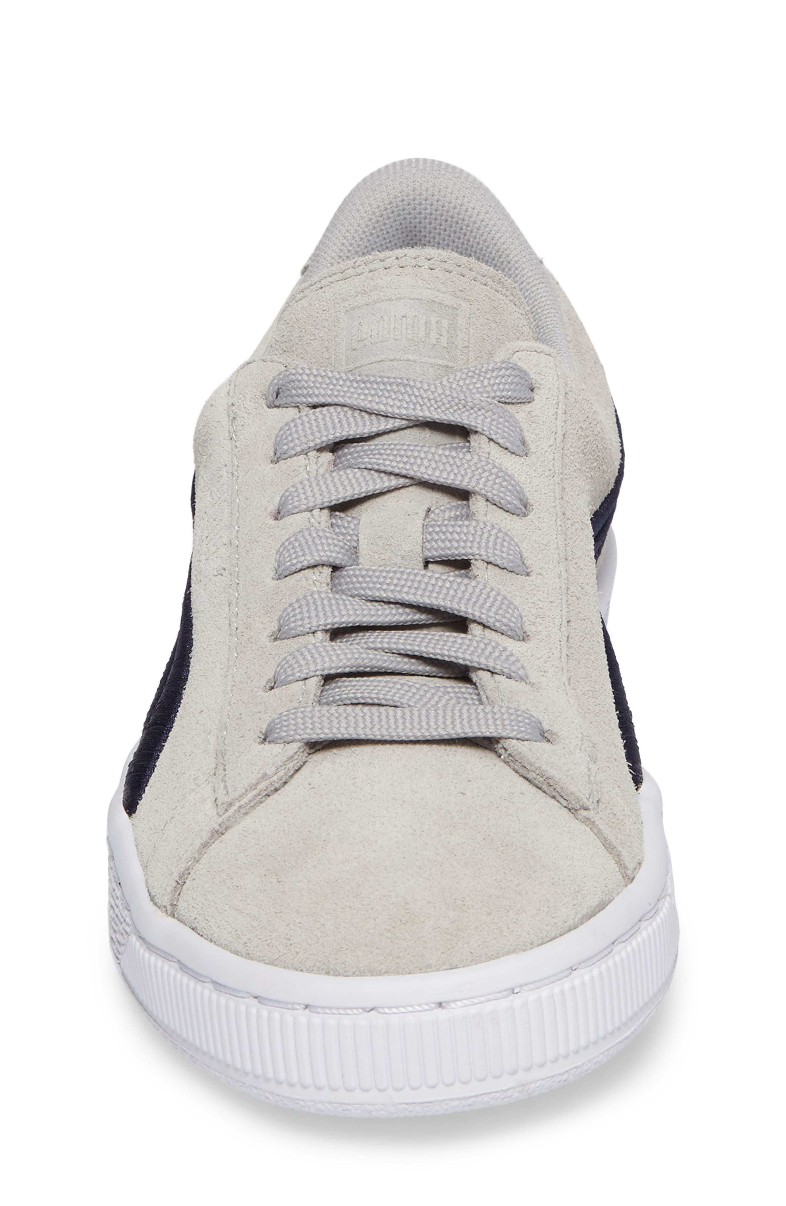 Classic Badge Jr Sneaker,                             Alternate thumbnail 4, color,                             060