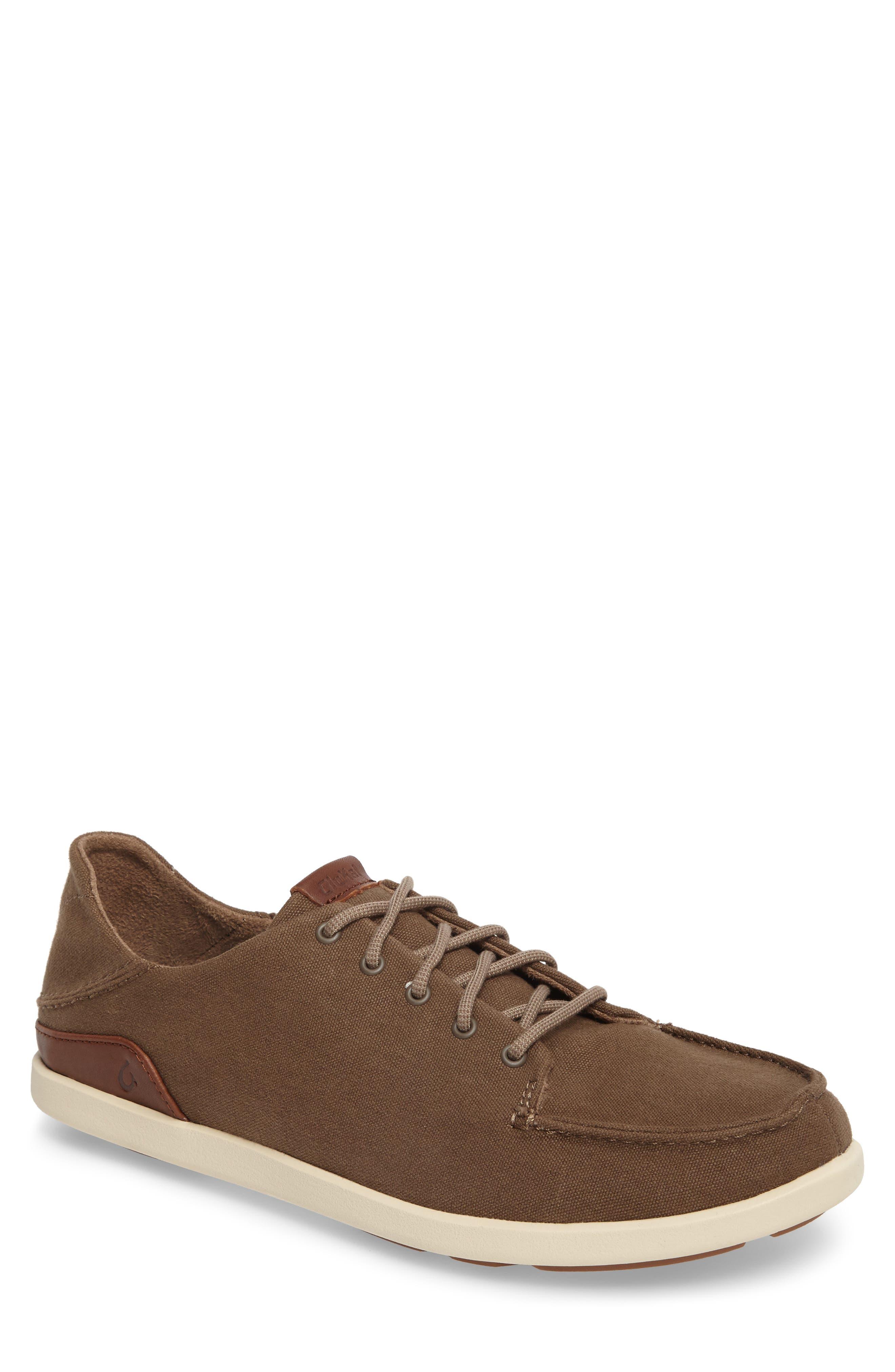 Manoa Sneaker,                             Main thumbnail 1, color,                             MUSTANG/ TOFFEE