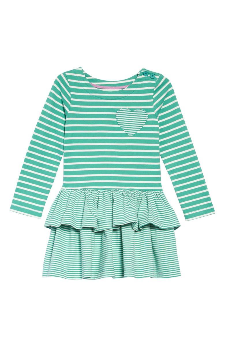 Mini Boden Stripy Jersey Dress