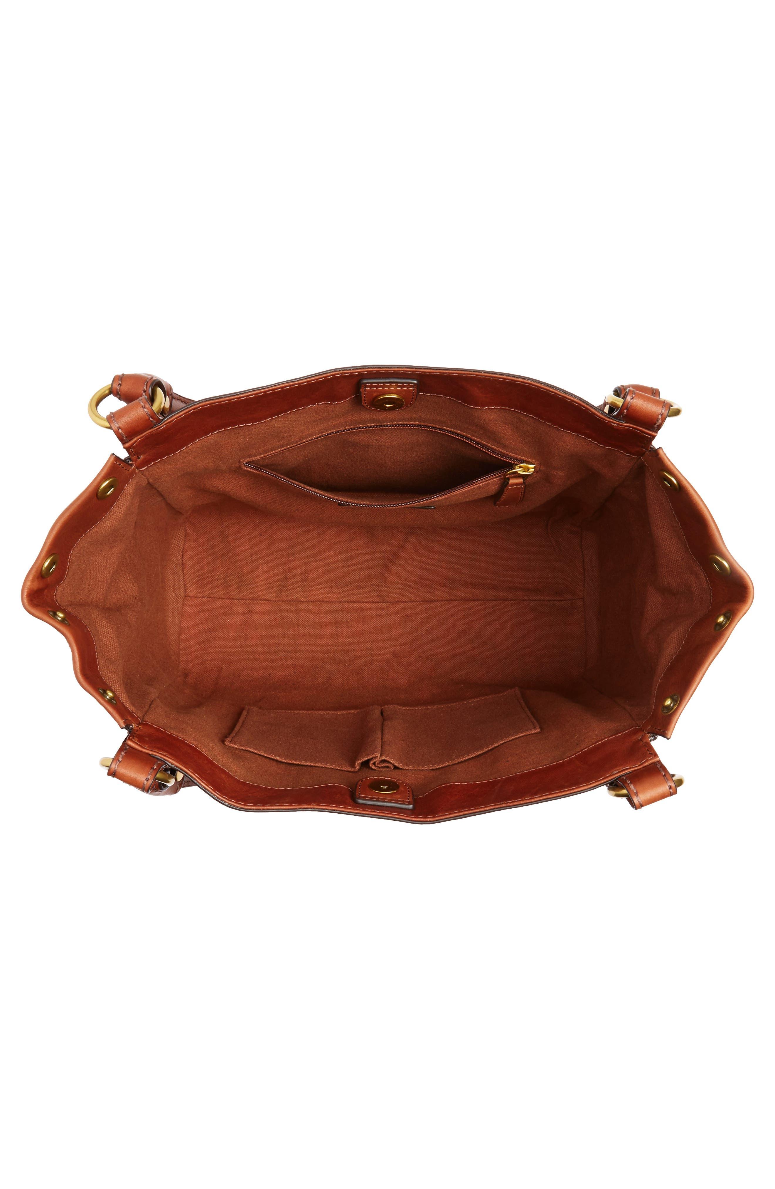 Melissa Leather Shoulder Bag,                             Alternate thumbnail 11, color,