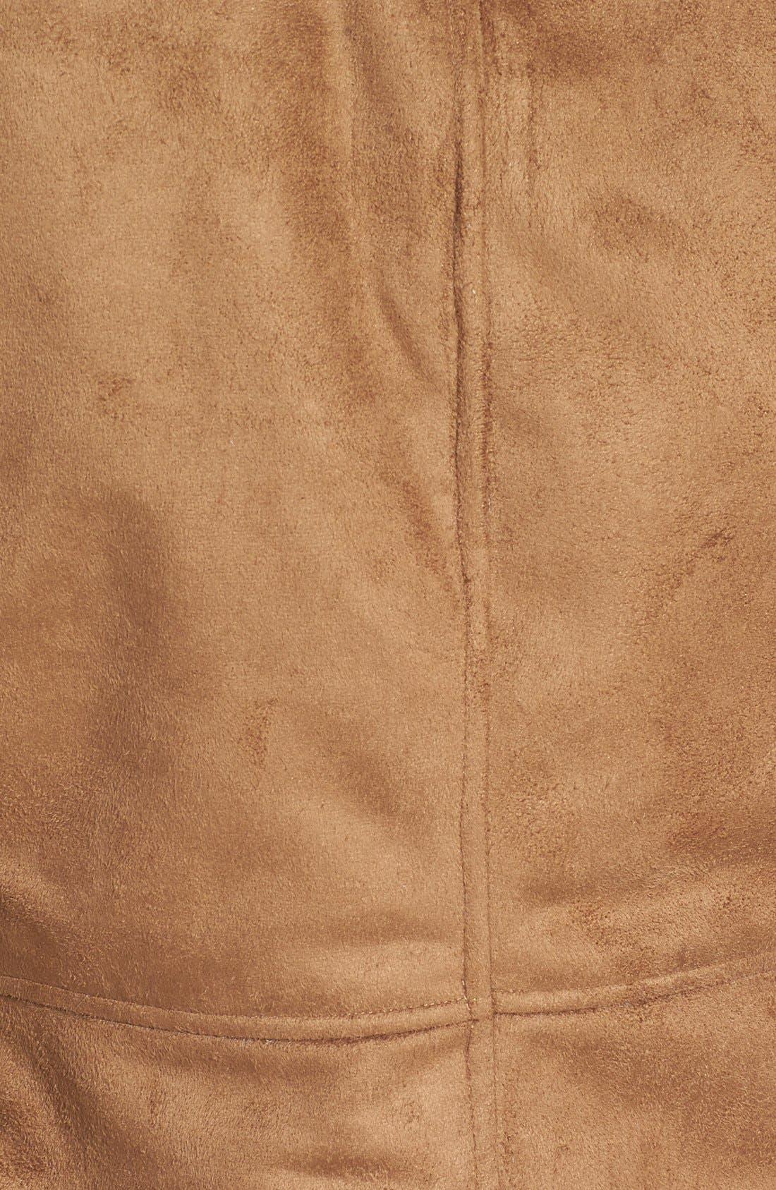 Bourne Faux Shearling Jacket,                             Alternate thumbnail 5, color,                             257