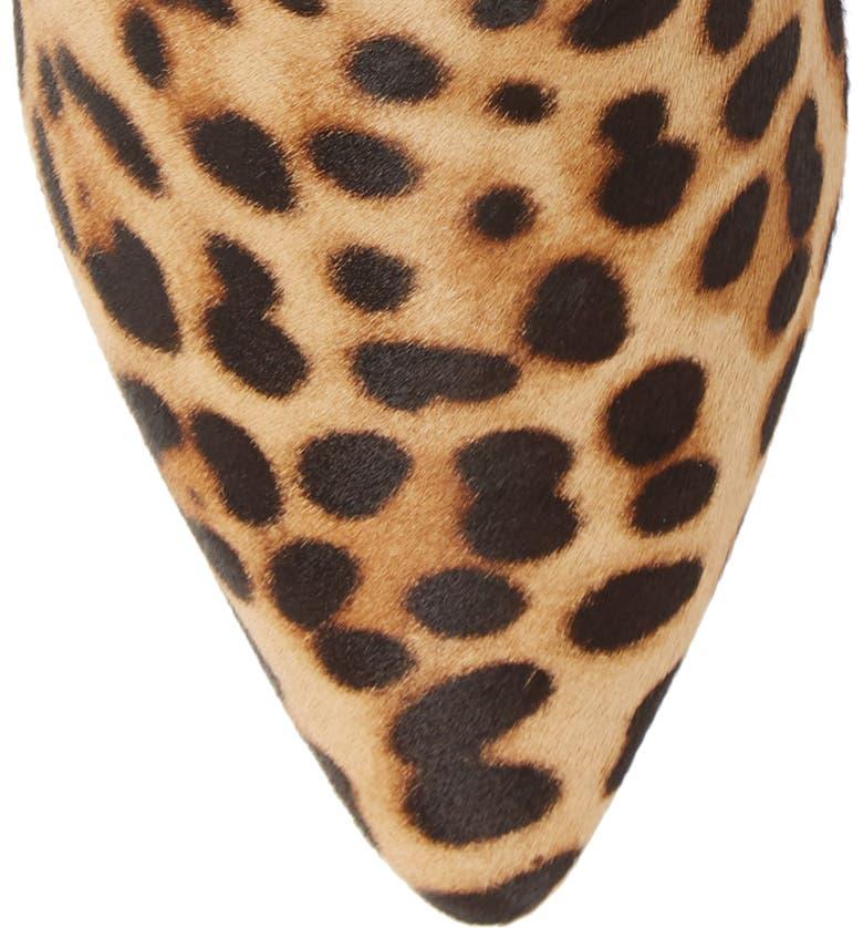 e3188f719bcc Shop Taryn Rose Nora Genuine Calf Hair Bootie In Leopard Calf Hair