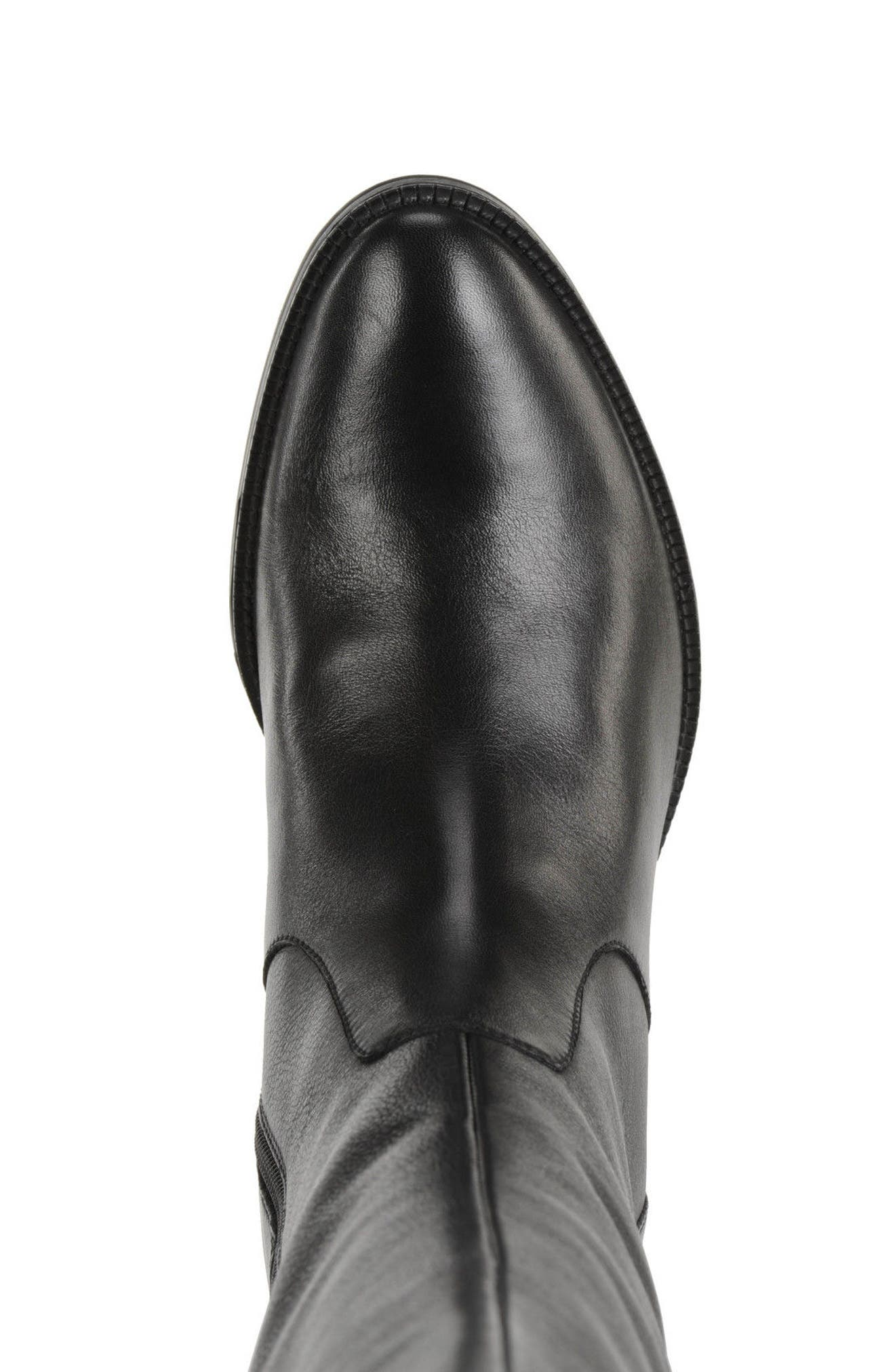 Mendi Tall Boot,                             Alternate thumbnail 4, color,                             001