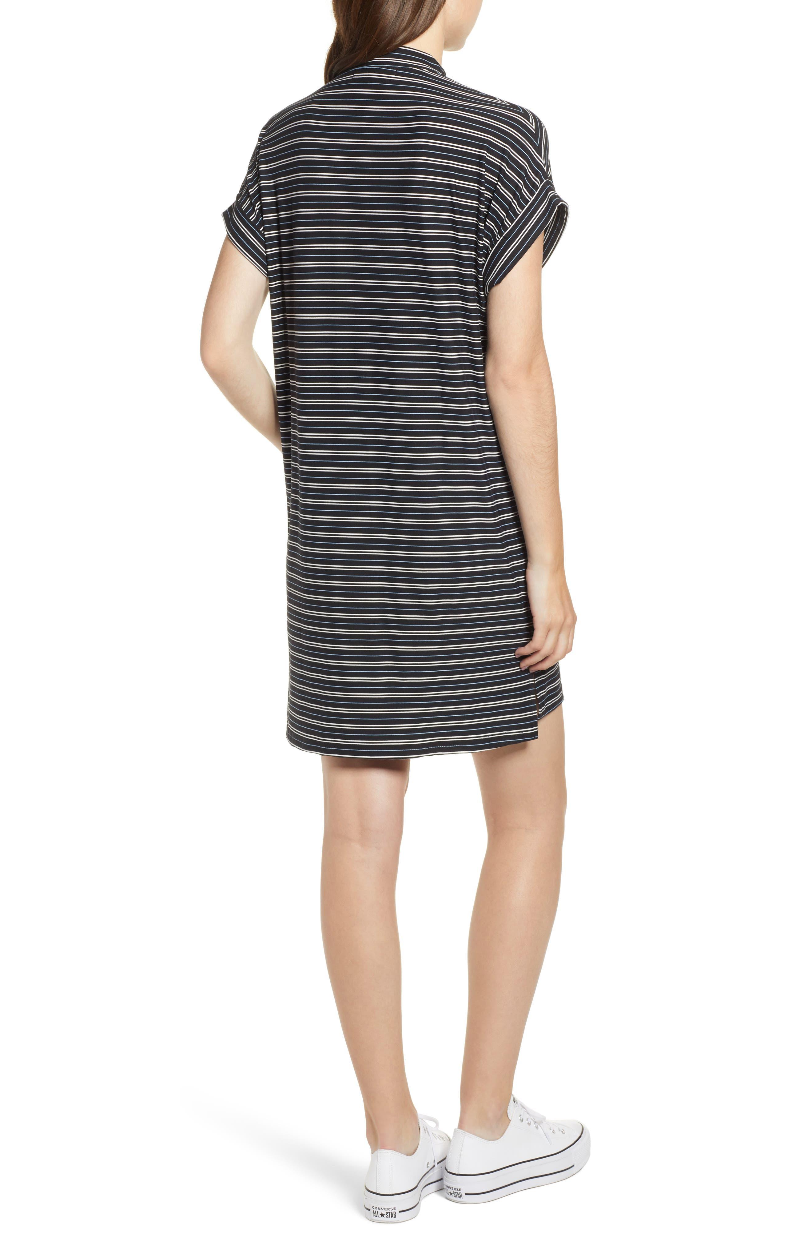 Stripe Sneaker Dress,                             Alternate thumbnail 2, color,                             001